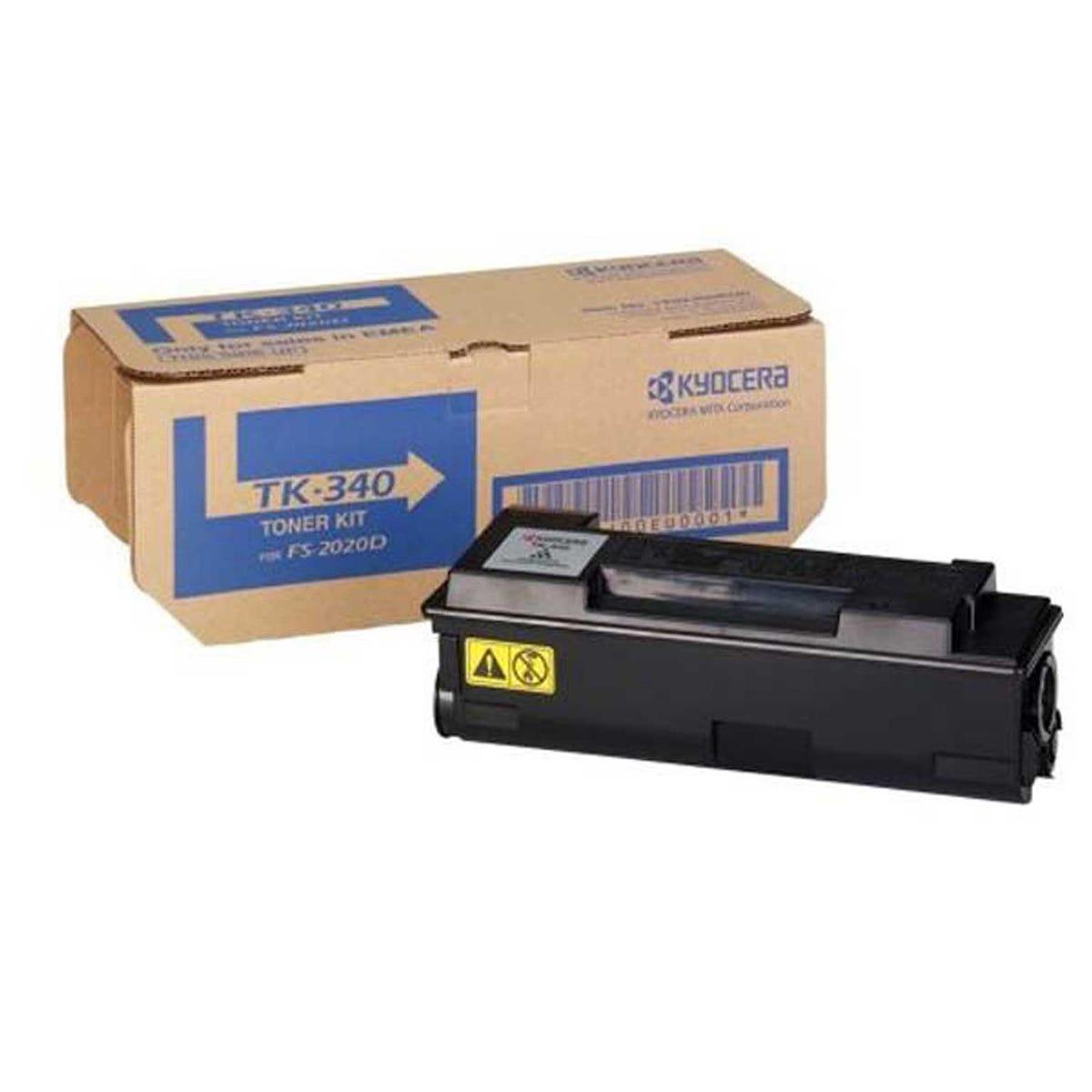 Image of Kyocera TK-340 Printer Toner Cartridge Kit, Black