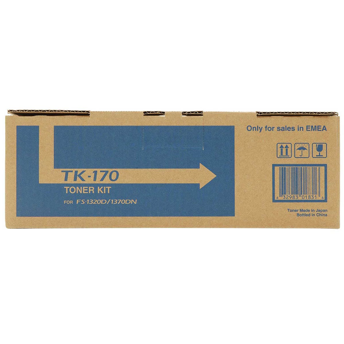 Kyocera TK170 Printer Toner Cartridge, Black