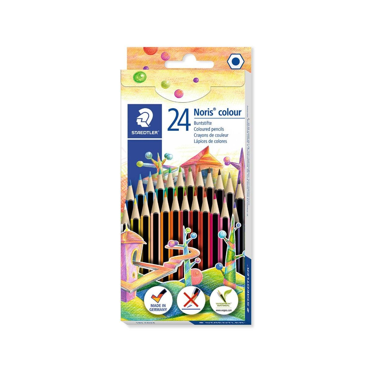 Click to view product details and reviews for Staedtler Colouring Pencils Pack Of 24 Assorted.