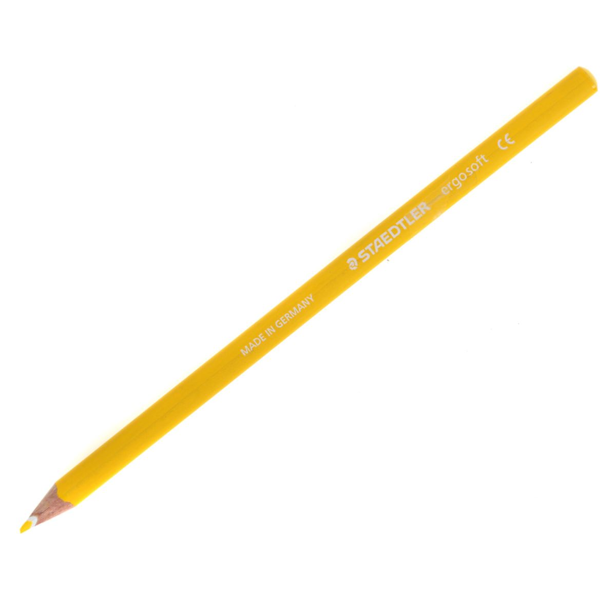 Staedtler Ergosoft Colouring Pencil Loose Yellow, Yellow