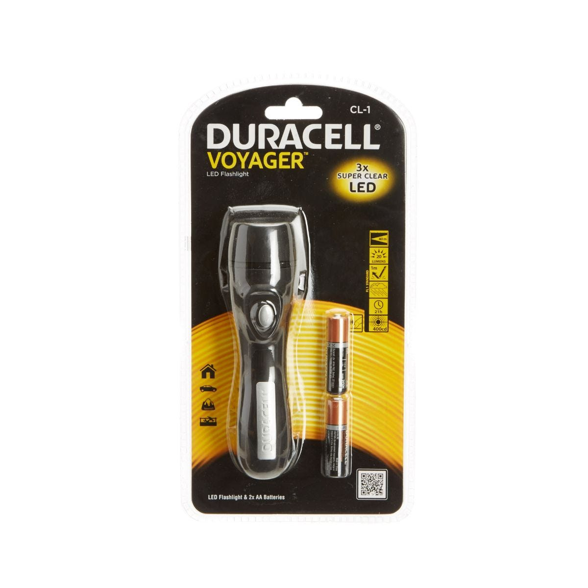Duracell CL-1 Voyager Torch 3 LED
