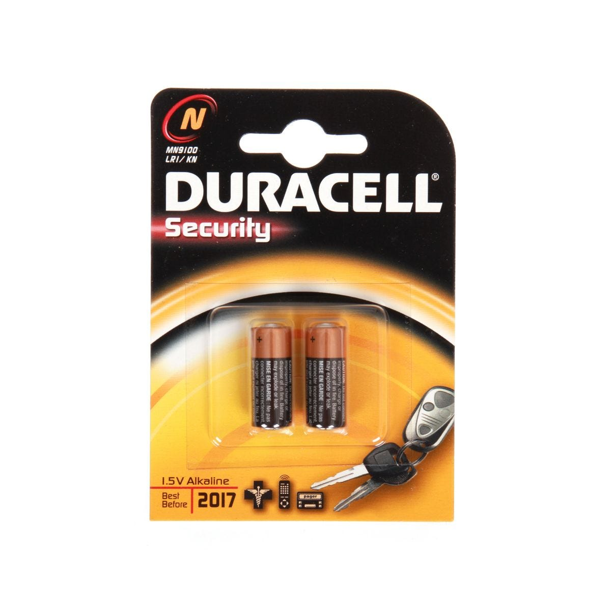 Image of Duracell Security N Pack of 2