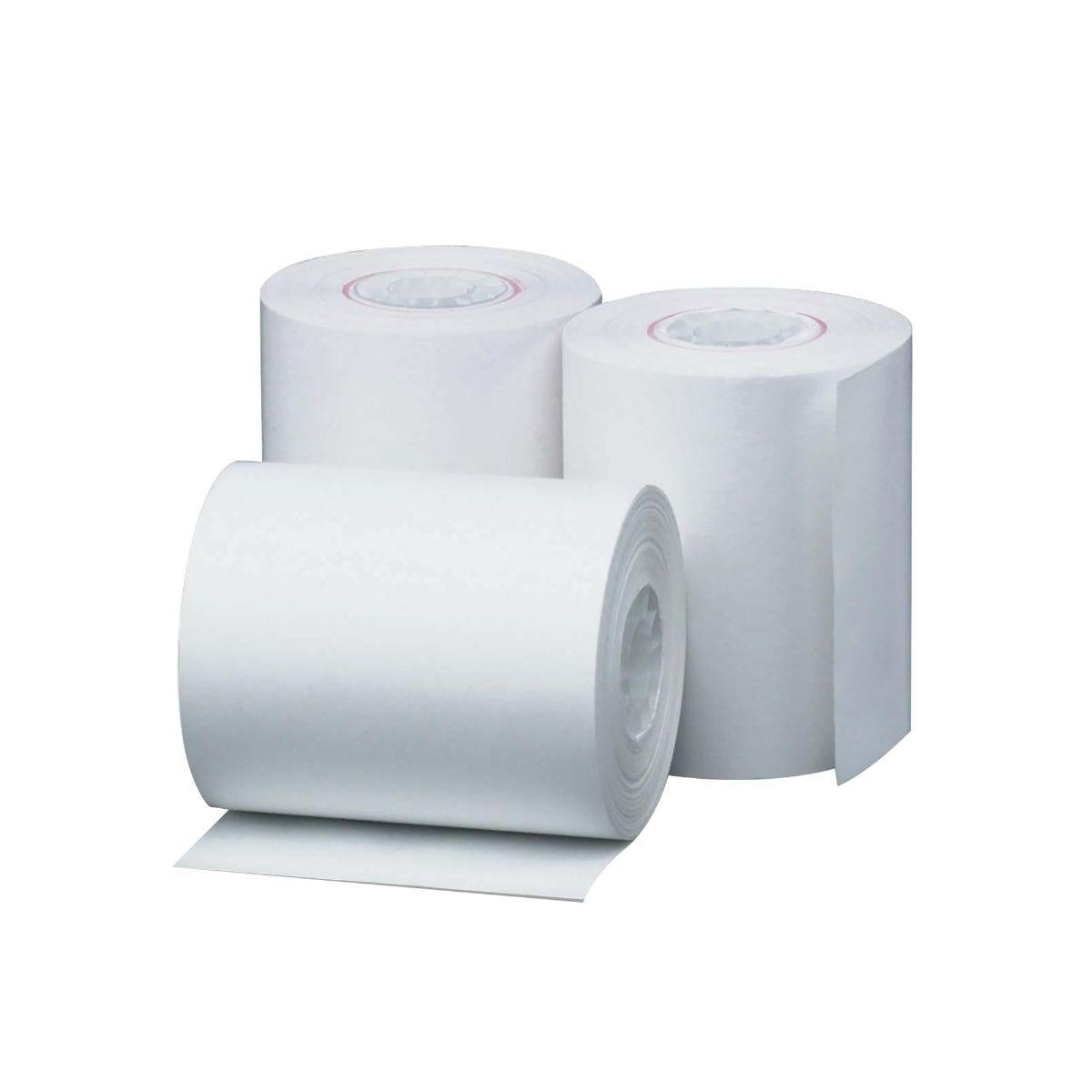 Prestige Cash Register Till Roll 1-Ply 76mmx76mm Pack of 20, White