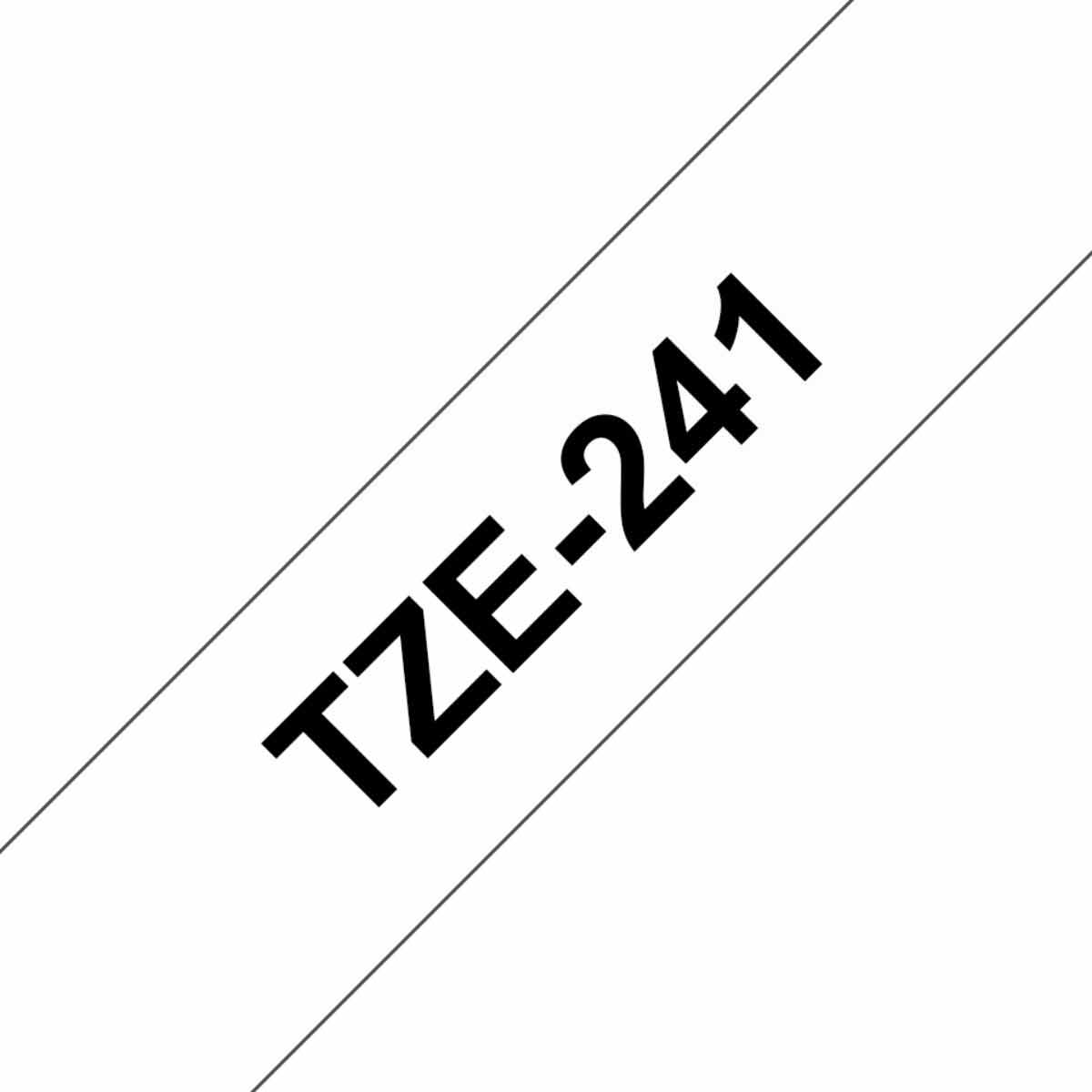 Image of Brother P-Touch TZE241 Label Tape