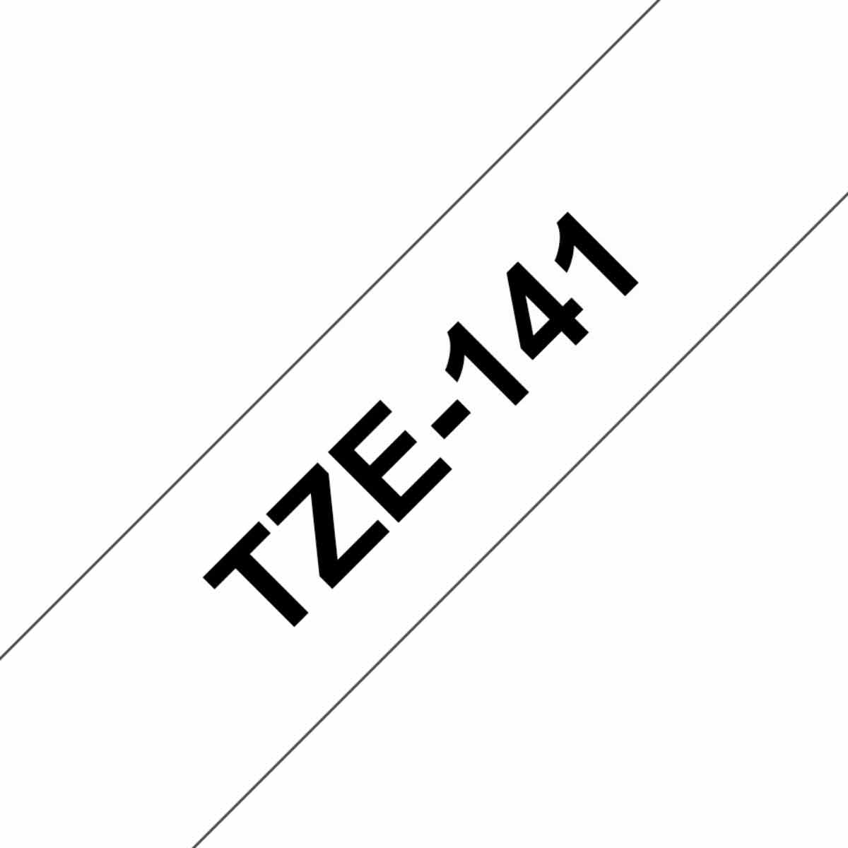 Image of Brother P-Touch TZE141 Tape