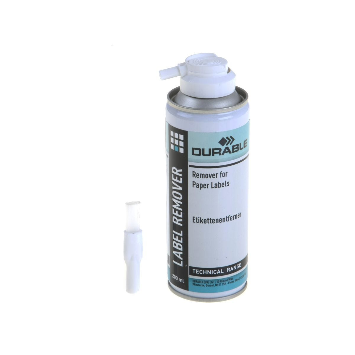 Durable Label Remover 200ml.