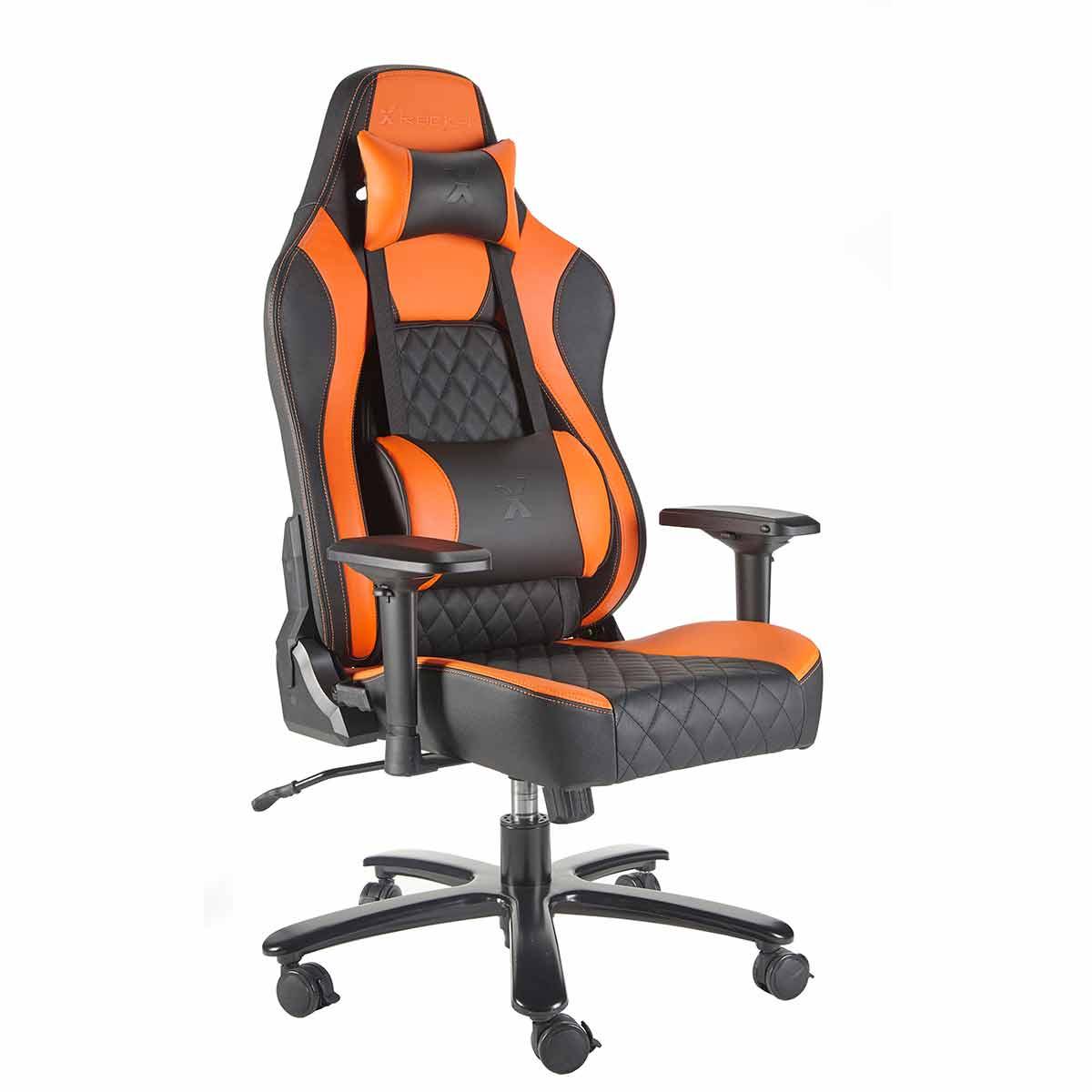 X Rocker Delta XL Office Chair, Orange