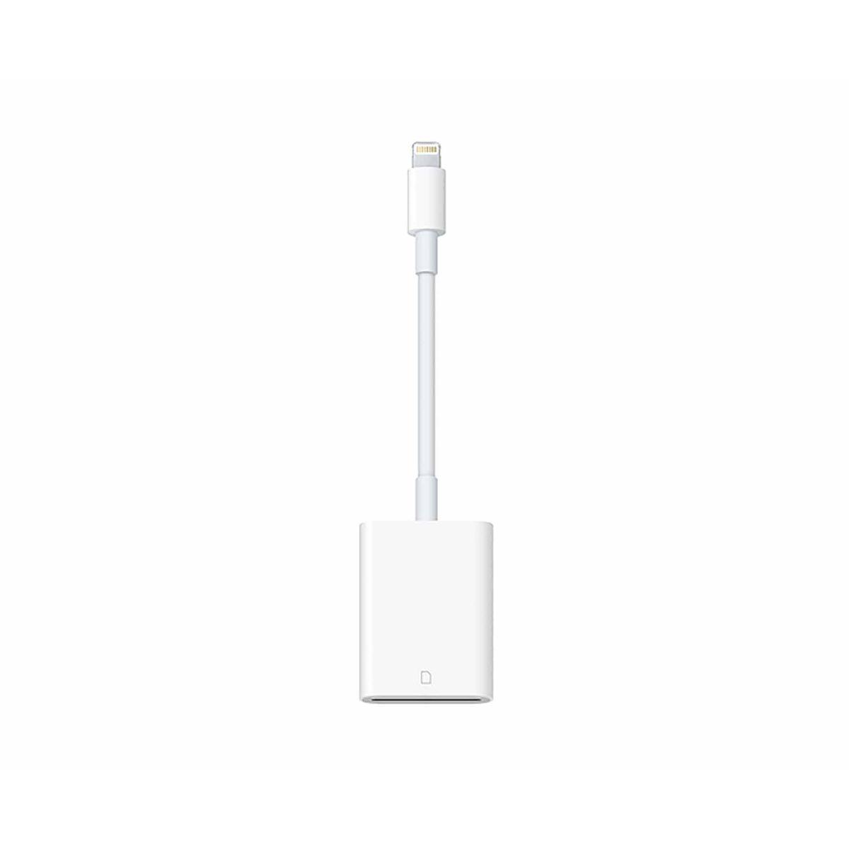 Image of Apple Lightning to SD Card Reader