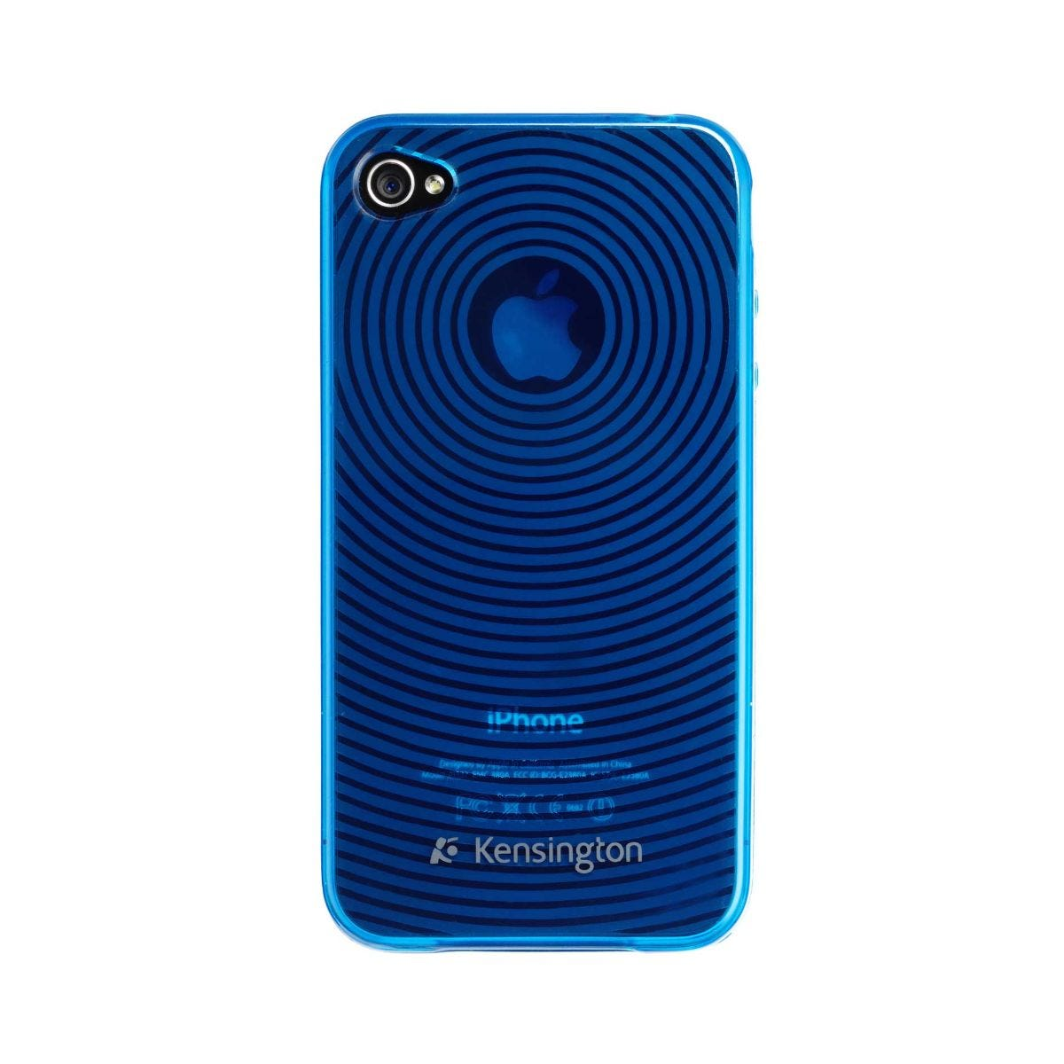 Kensington iPhone 4 Grip Case, Blue