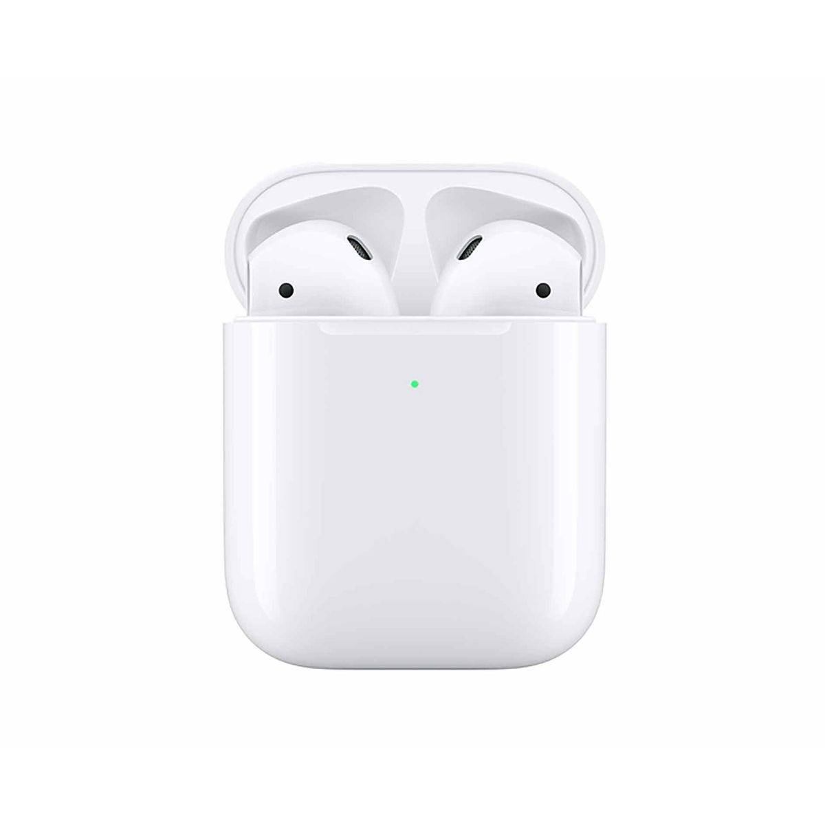 Apple AirPods with Wireless Charging Case Gen 2, White