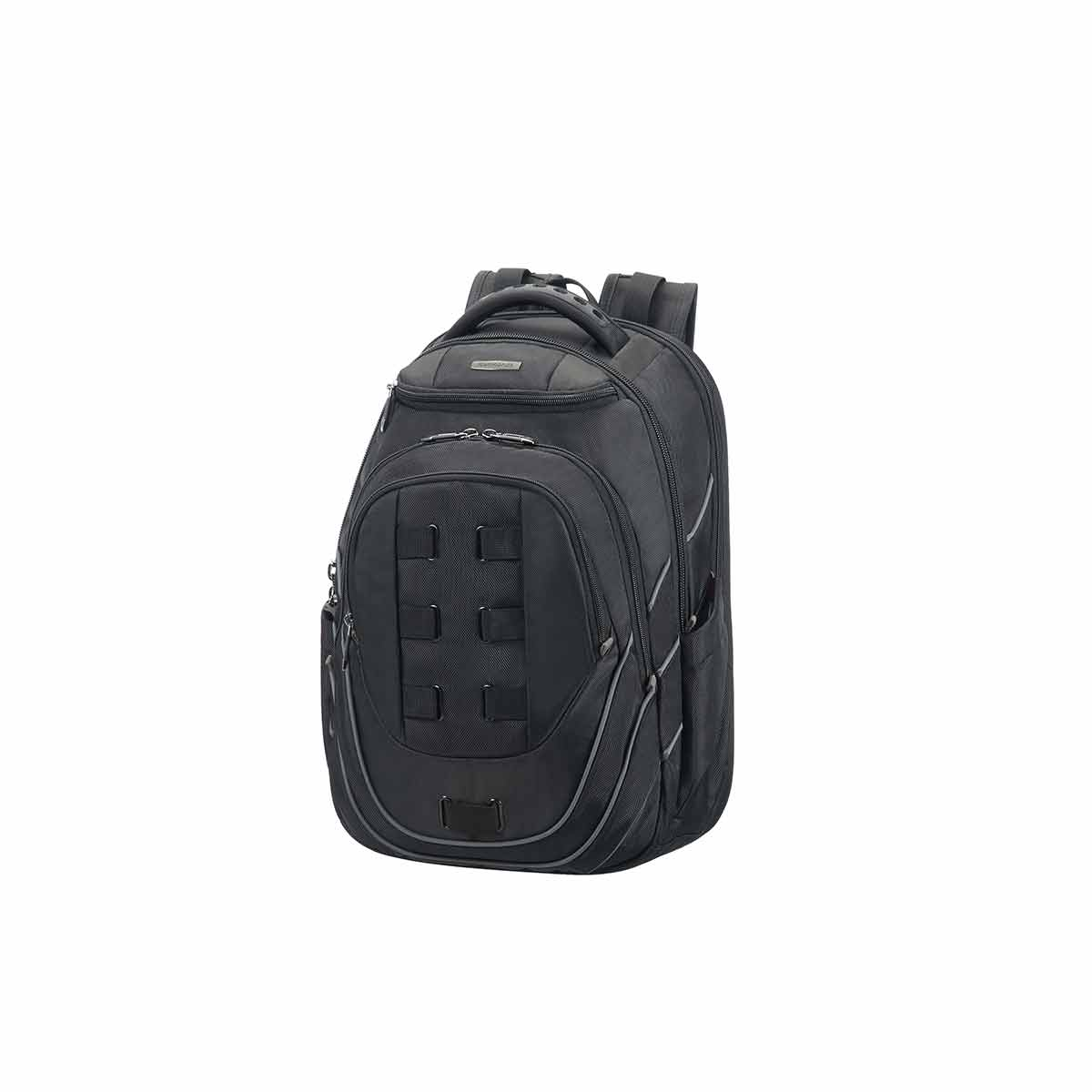 samsonite leviathan laptop backpack 17.3 inch, black/grey