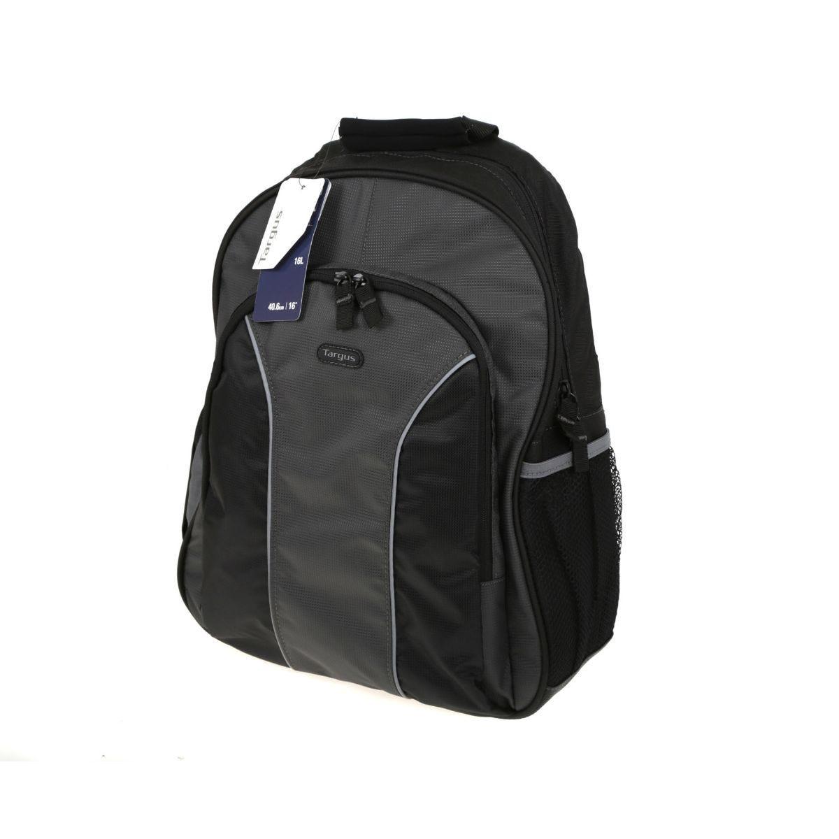 Image of Targus Essential Laptop Backpack 16 Inch, Blk/Grey