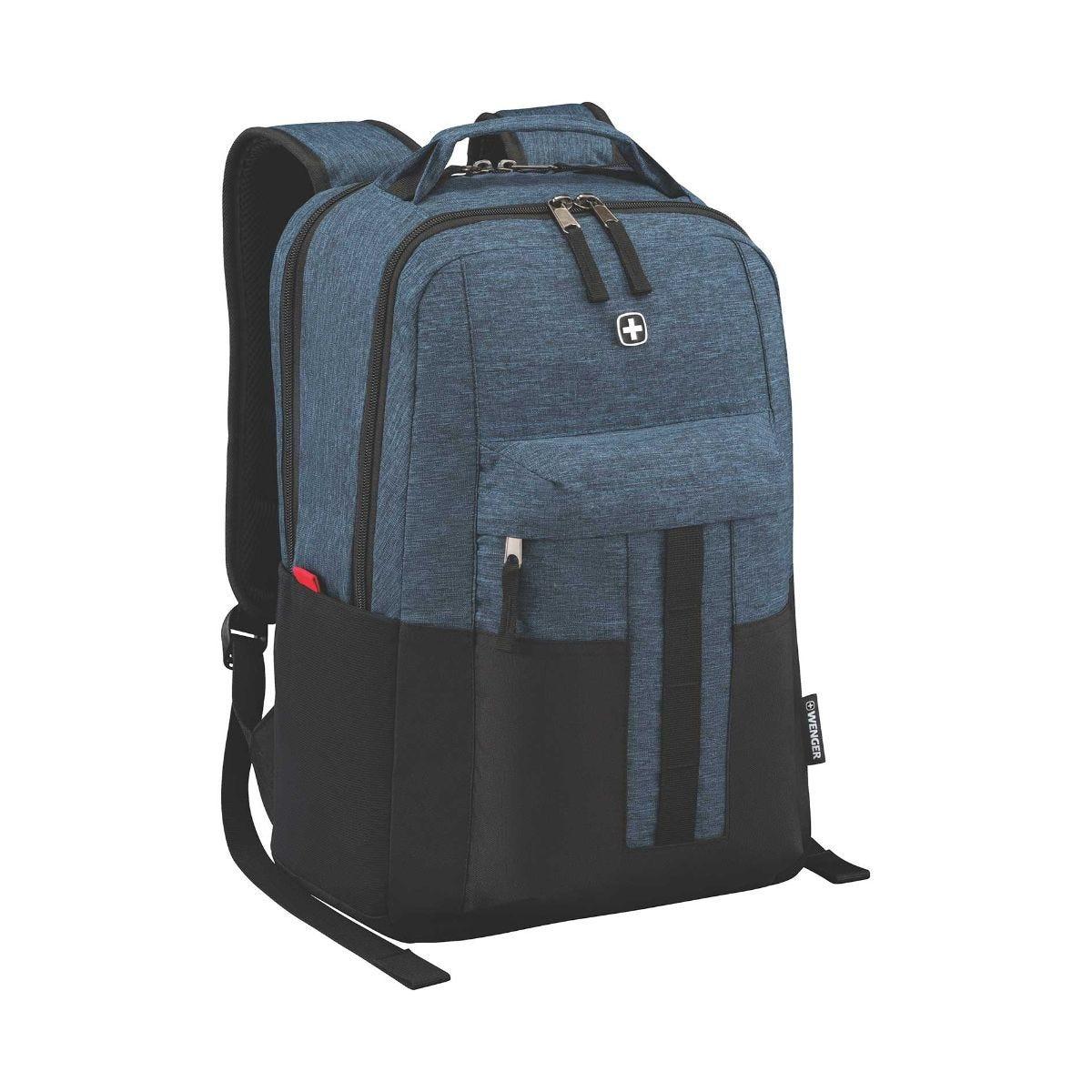 Wenger Ero 16 Inch Backpack Blue Denim, Blue Denim.
