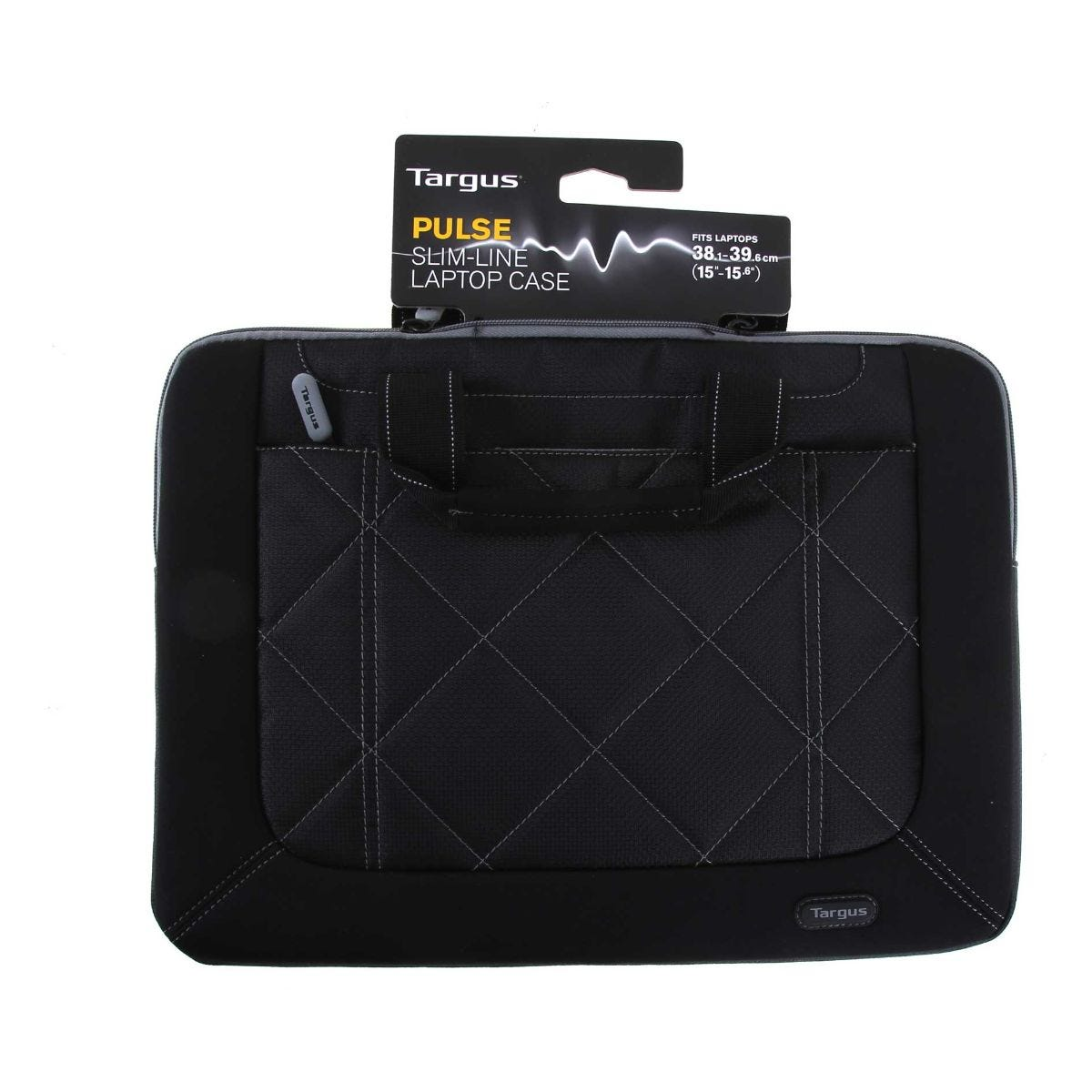Targus Pulse Laptop Slipcase 15-16 Inch, Black / Grey.