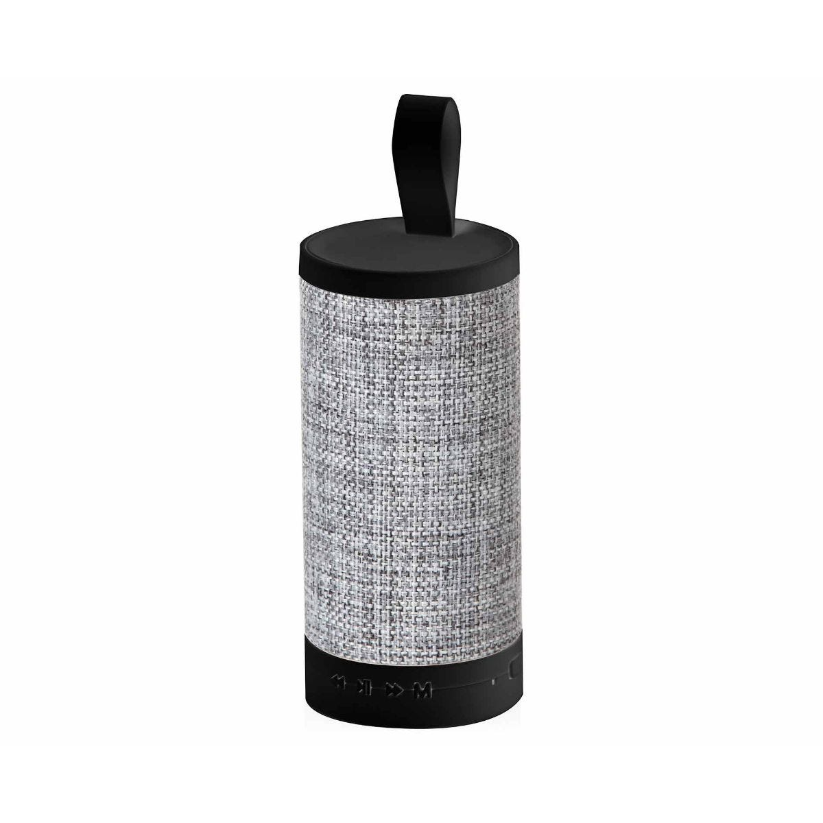 Image of Akai A58075G Fabric Bluetooth Speaker with Mic - Grey, Grey