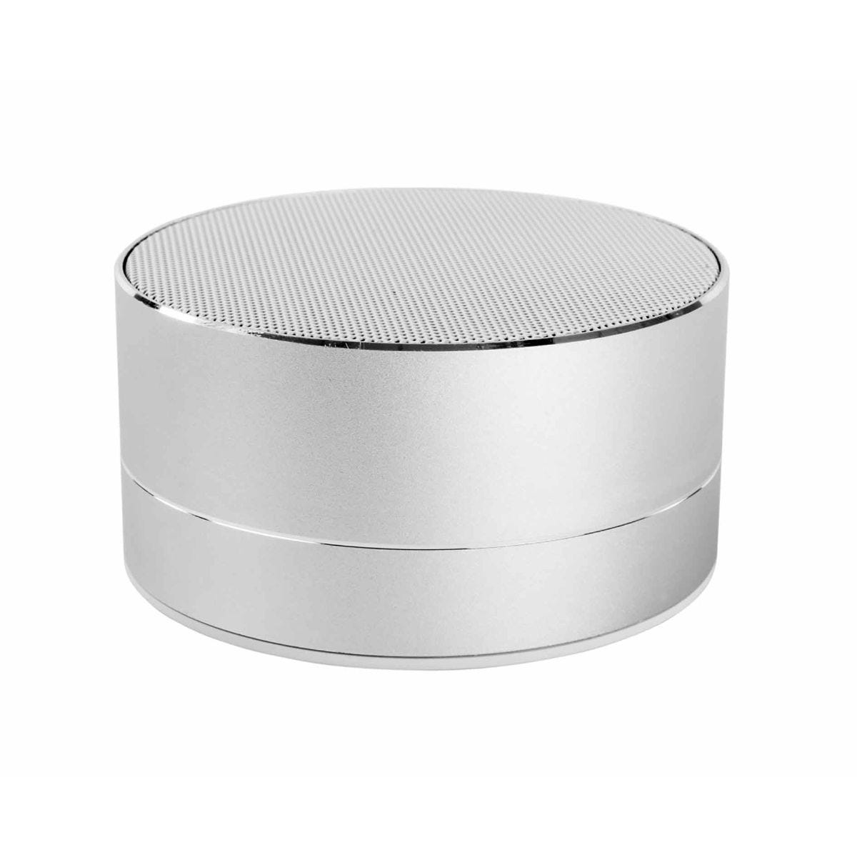Image of Akai A58077 Mini DYNMX Bluetooth Speaker with Mic - Silver, Silver
