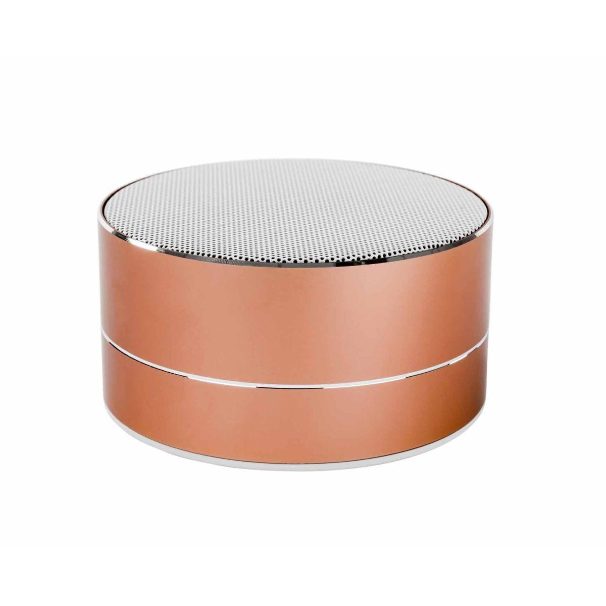 Image of Akai A58077 Mini DYNMX Bluetooth Speaker with Mic- Blush, Blush
