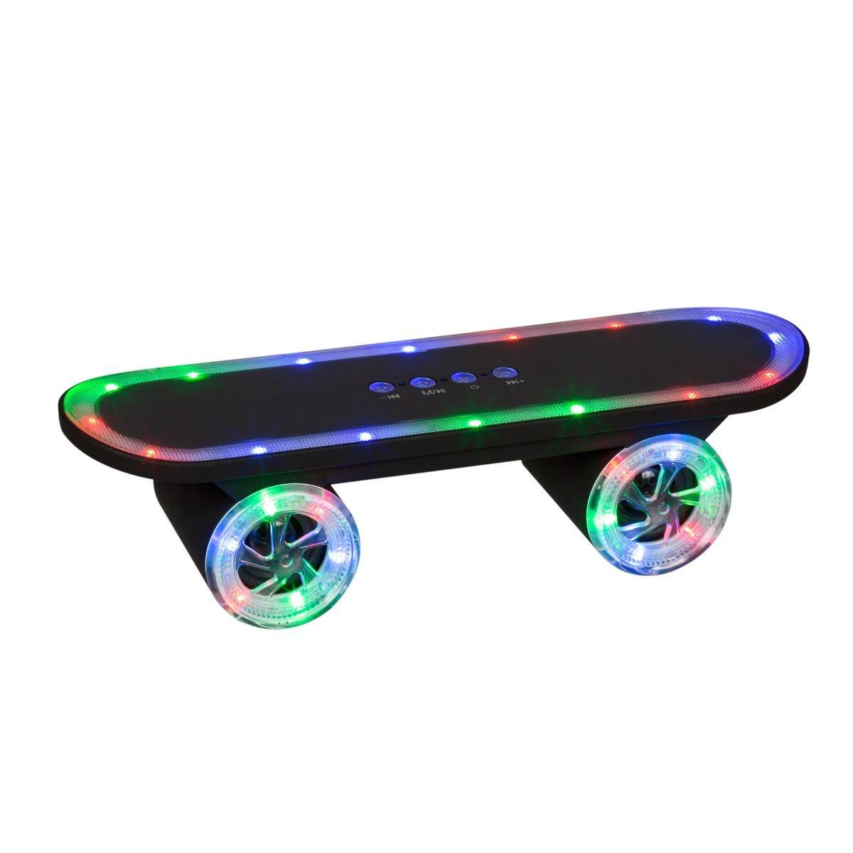 Image of Bluetooth Light Up Skateboard Speaker