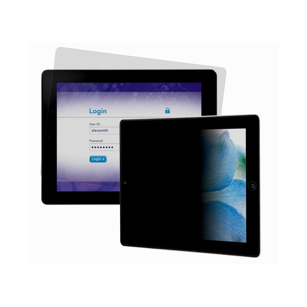 3M Privacy Screen Protector For iPad 2 Landscape