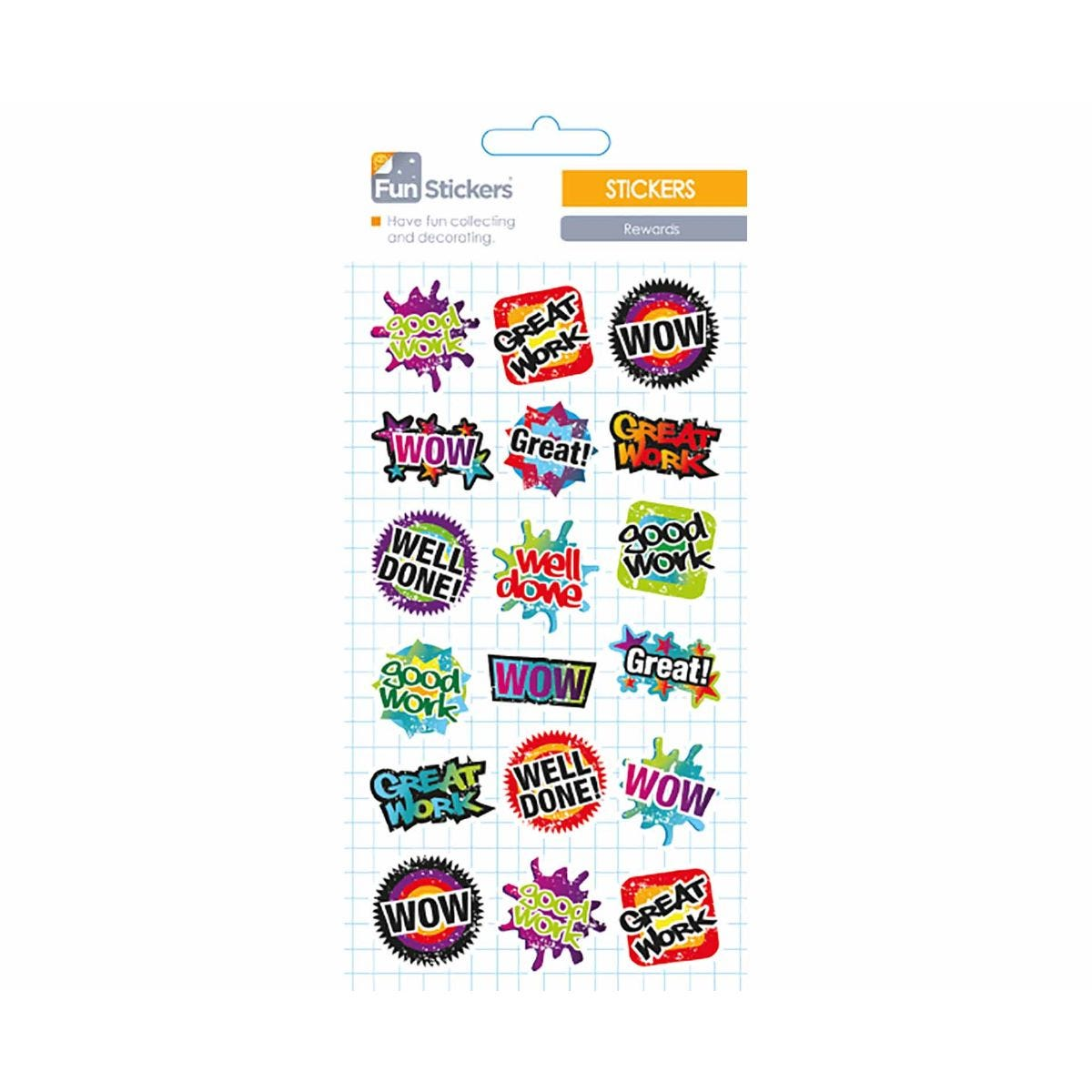 Other Art Supplies Strong-Willed Fun Stickers Rewards