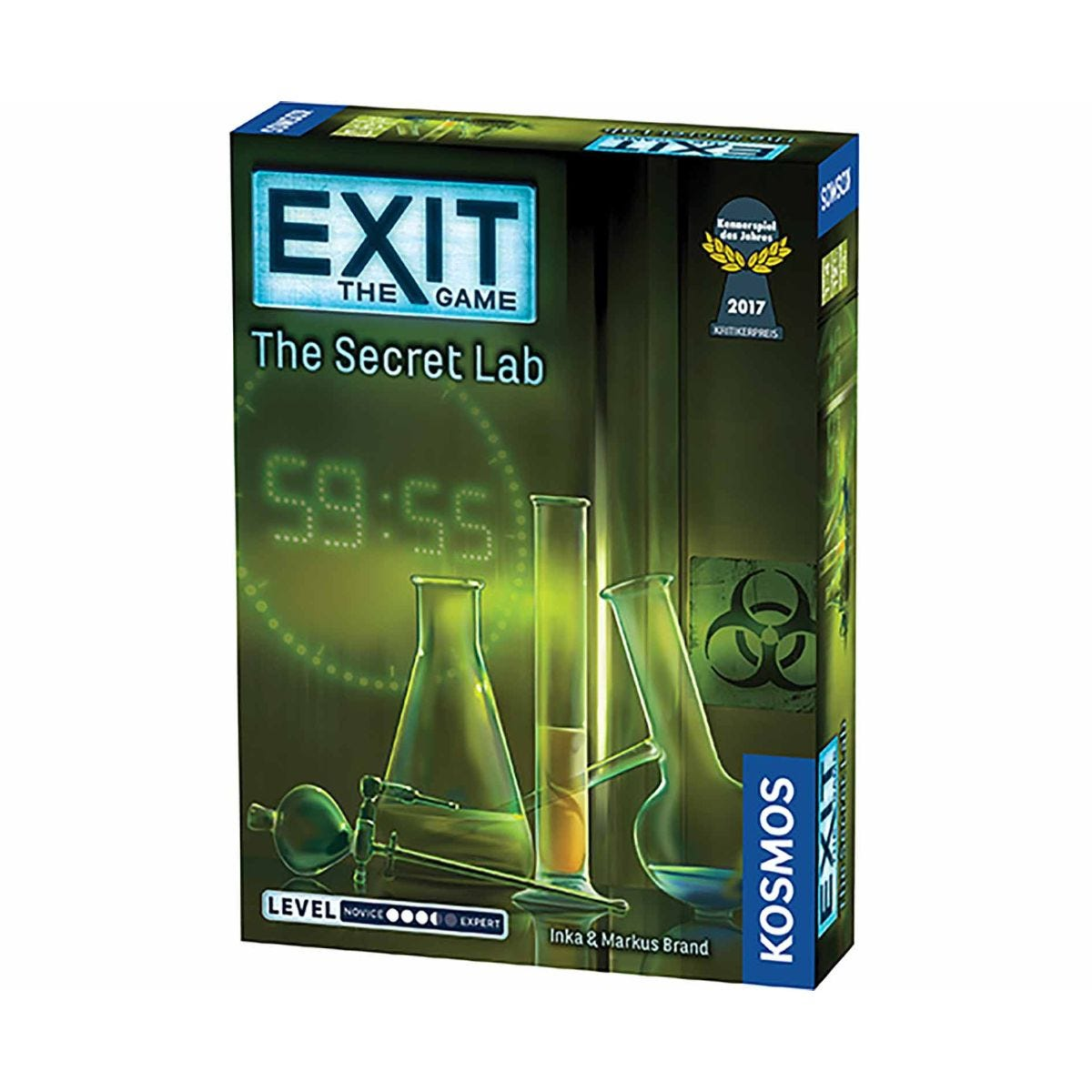 Visualizza prodotto: Thames and Kosmos Exit - The Secret Lab Escape Room Board Game