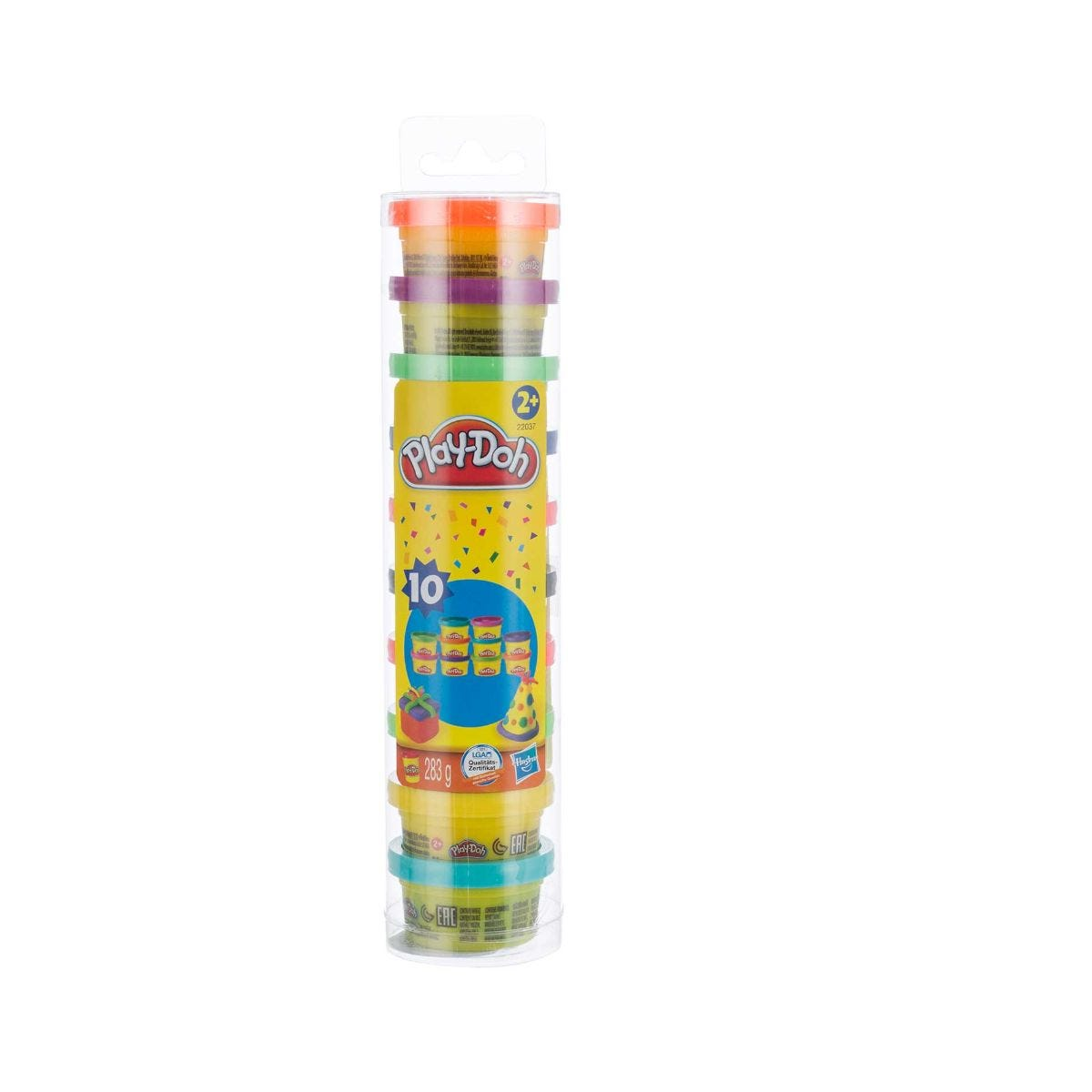 Play Doh Party Tube Pack of 10