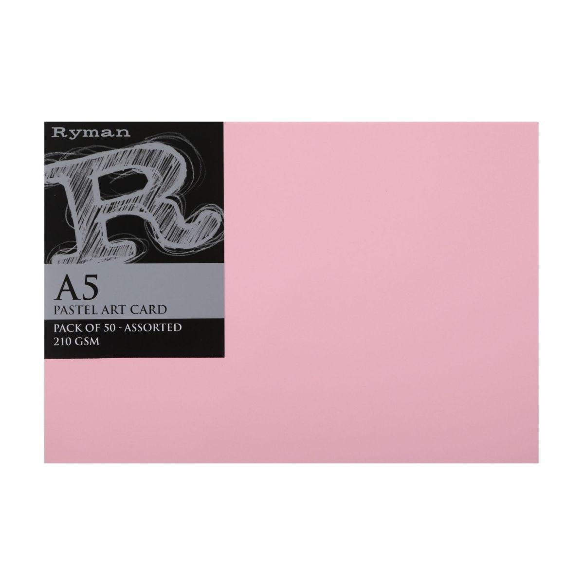 Ryman Art Card, Pastel