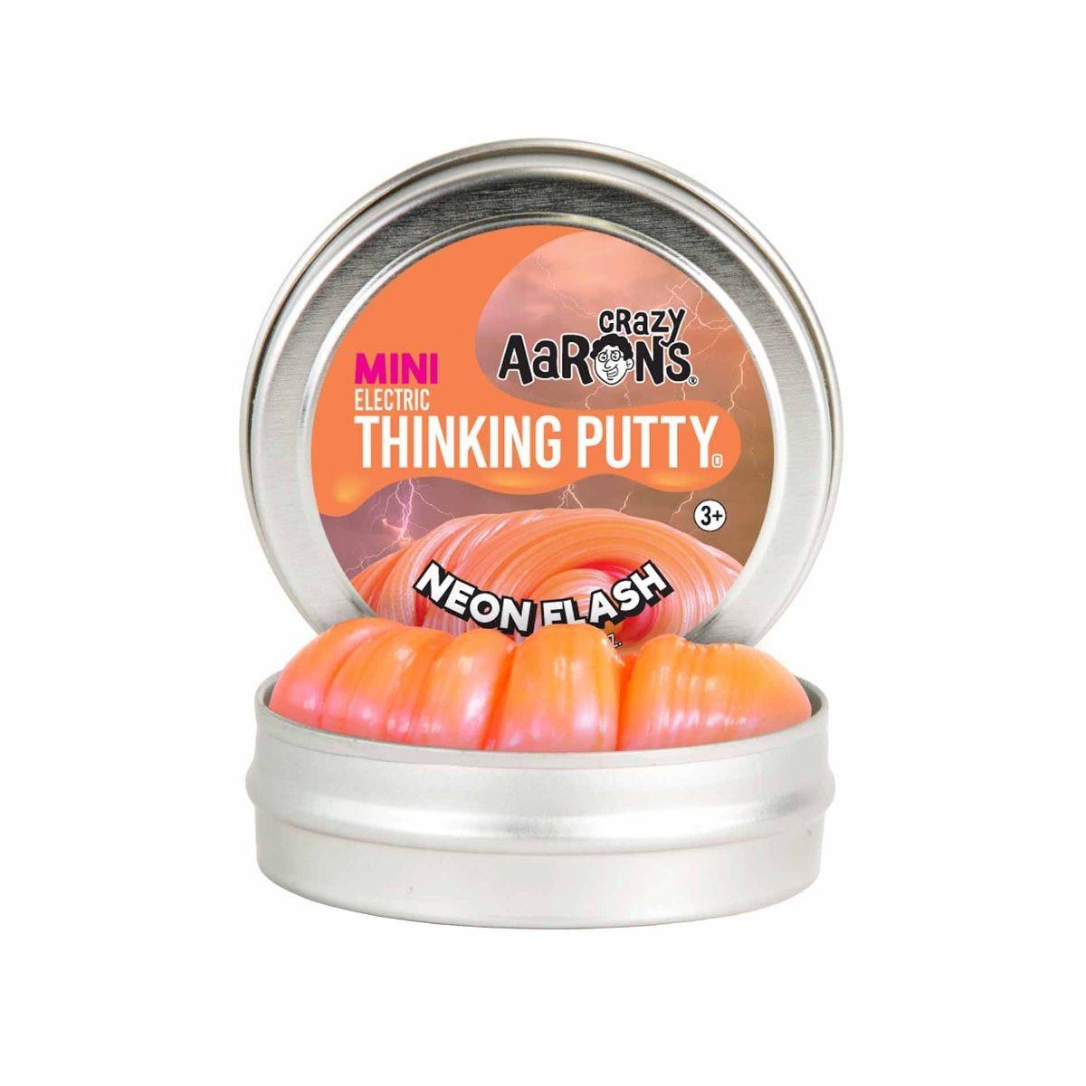 Crazy Aarons Thinking Putty Neon Flash Mini Tin