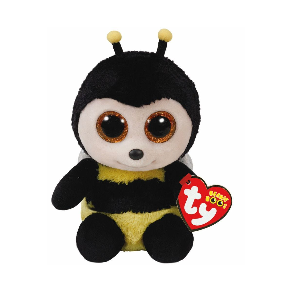 Image of Ty Buzzy Bee Beanie Boo Cuddly Toy
