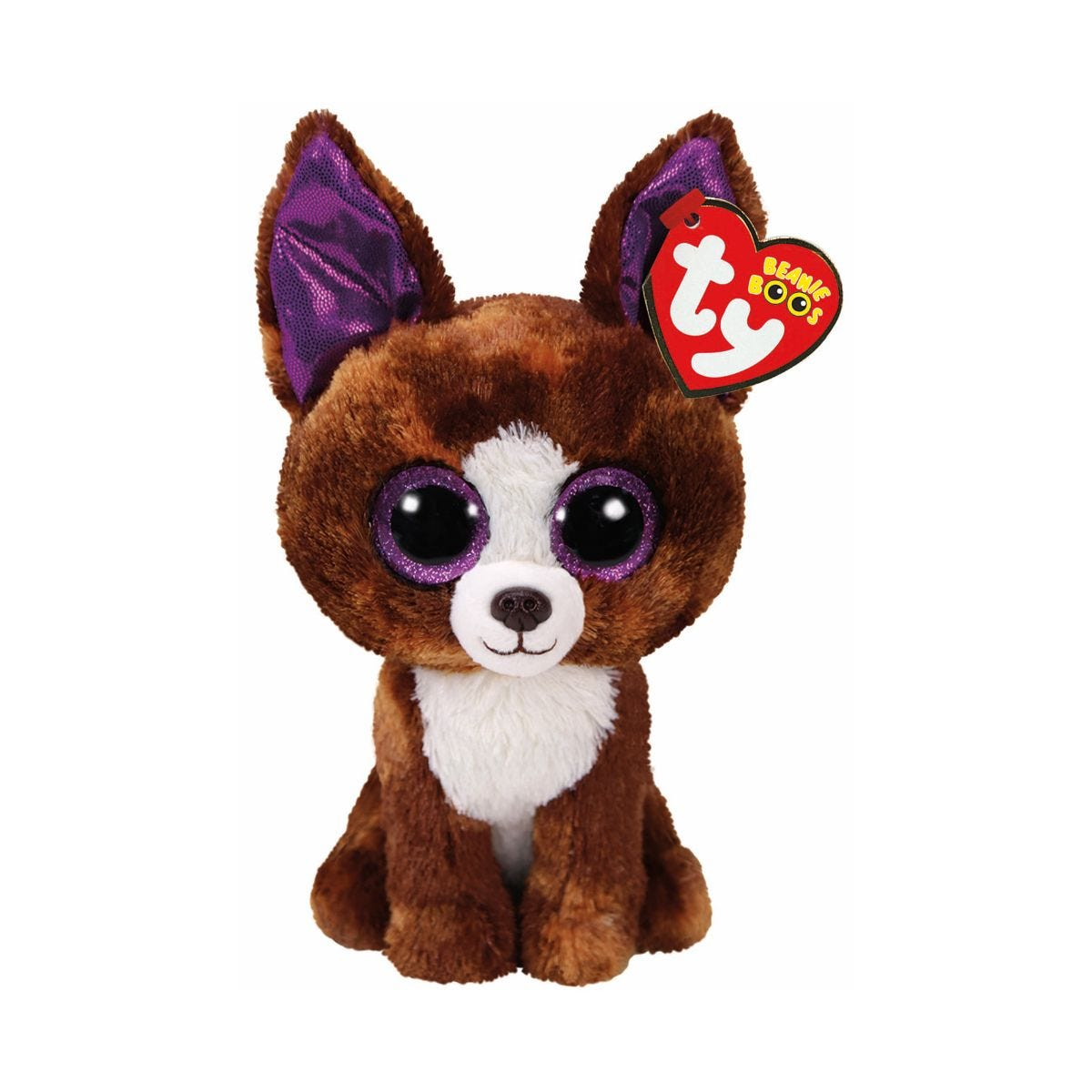 Image of Ty Dexter Chihuahua Beanie Boo Cuddly Toy