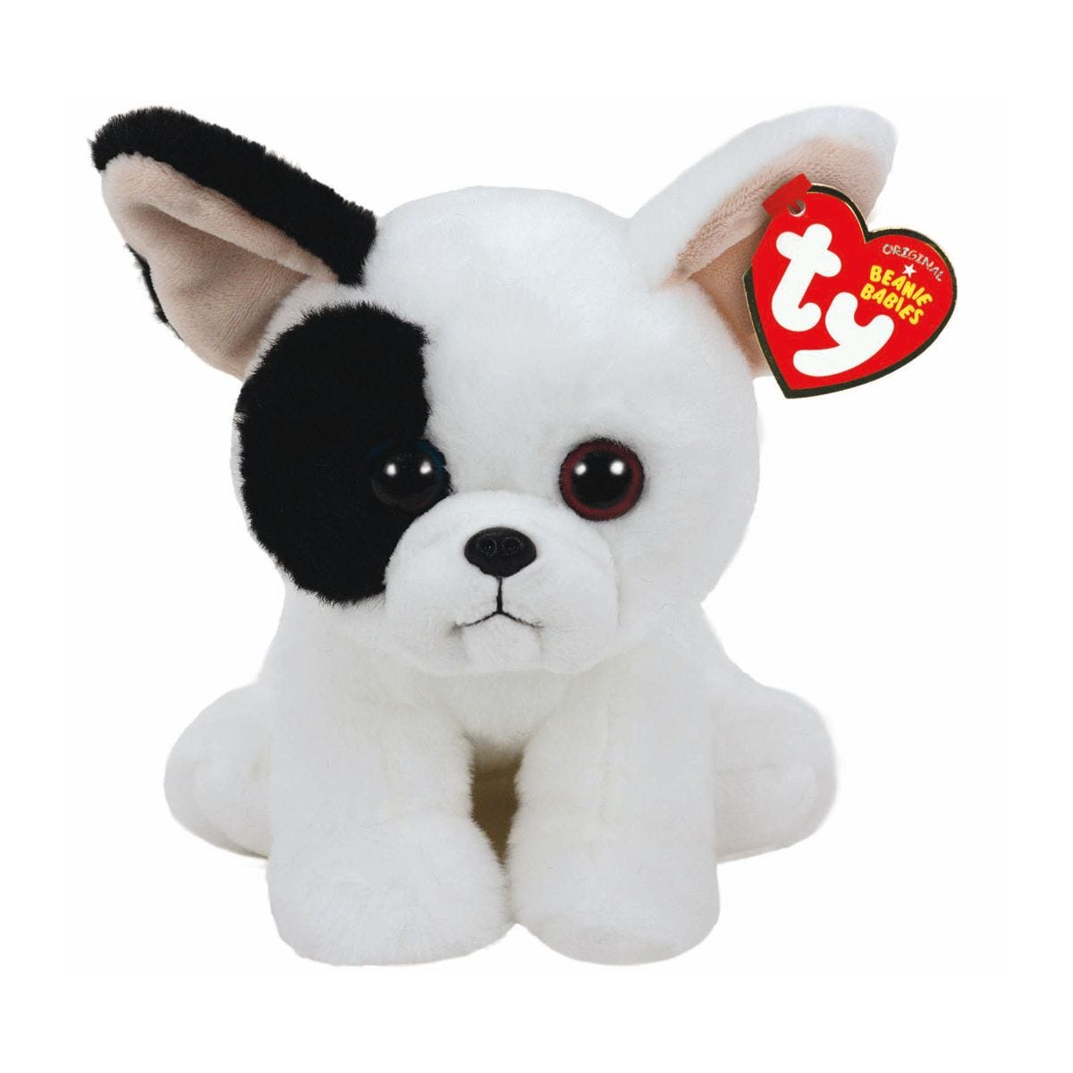 Image of Ty Marcel Dog Beanie Baby Cuddly Toy