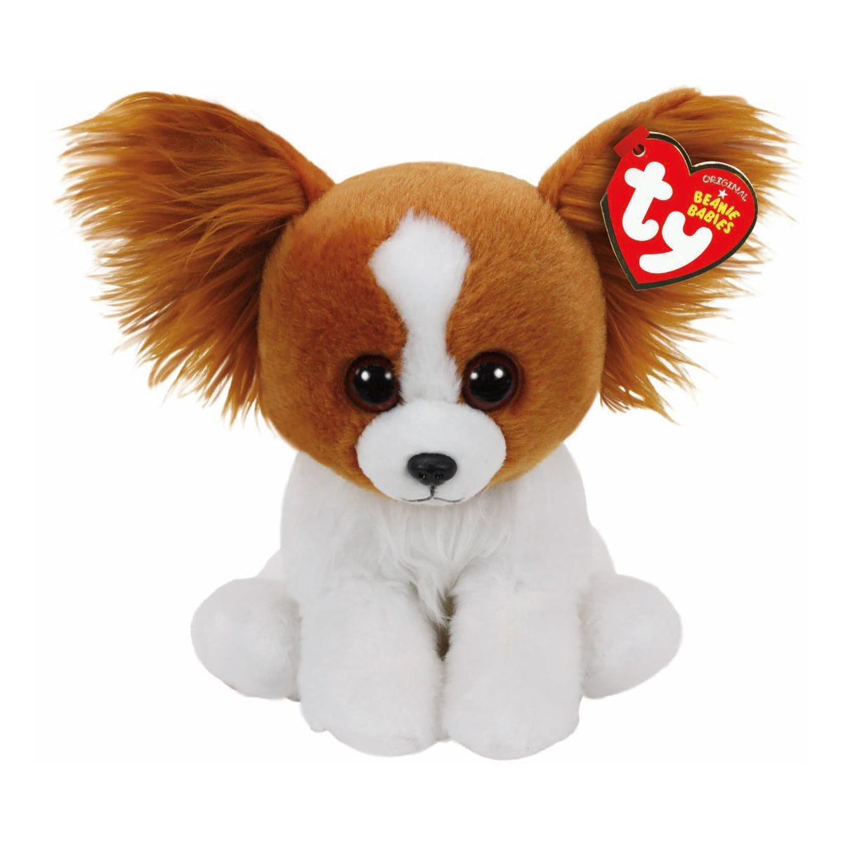 Image of Ty Barks Dog Beanie Baby Cuddly Toy
