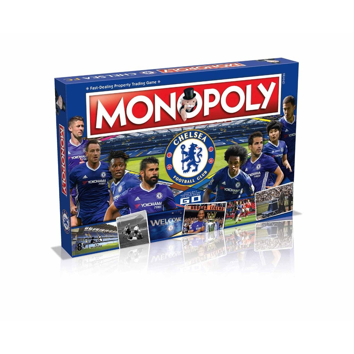 Image of Chelsea FC Monopoly Board Game