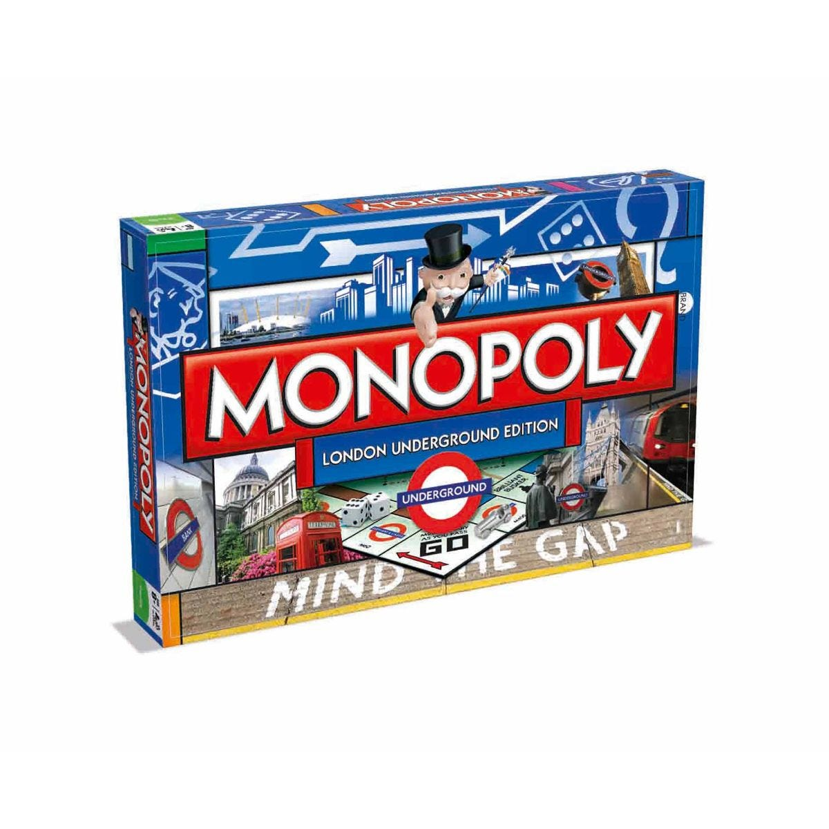 Image of London Underground Monopoly Board Game
