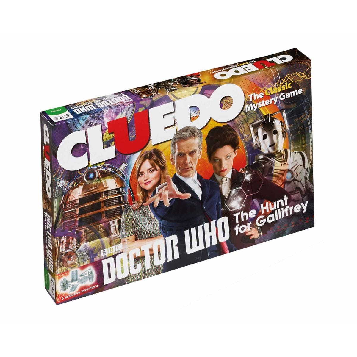 Image of Doctor Who Cluedo Board Game
