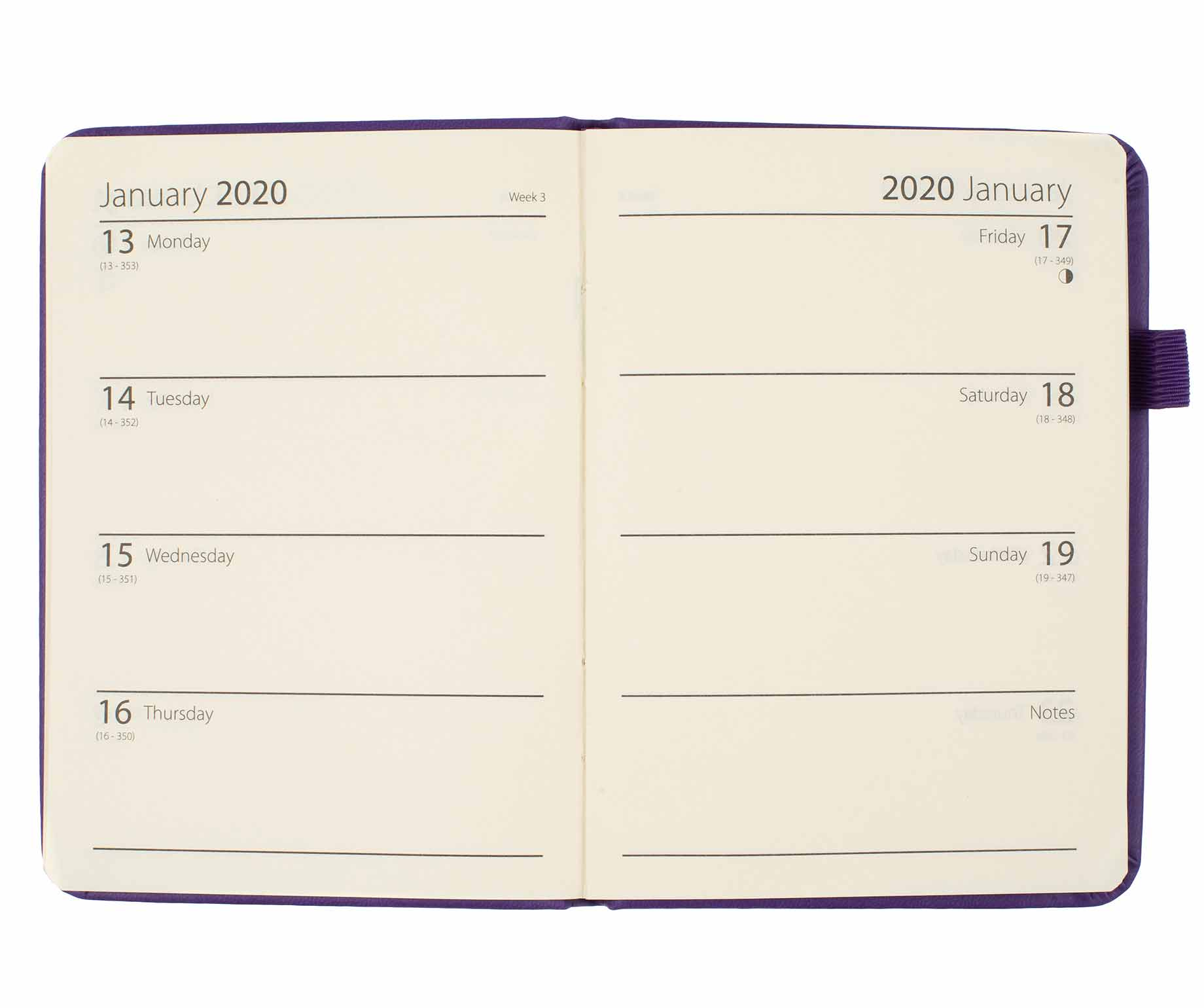 Home, Furniture & DIY Ryman Soft Cover Diary Week to View A6 2019-2020 School Diary