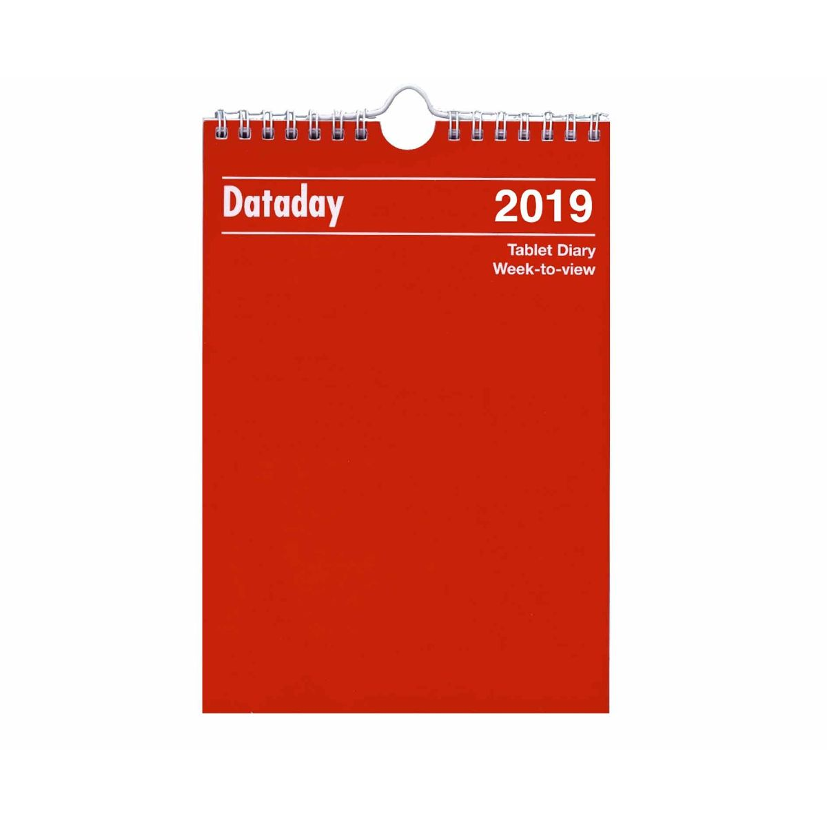 Dataday Wall Calendar Week to View 2019
