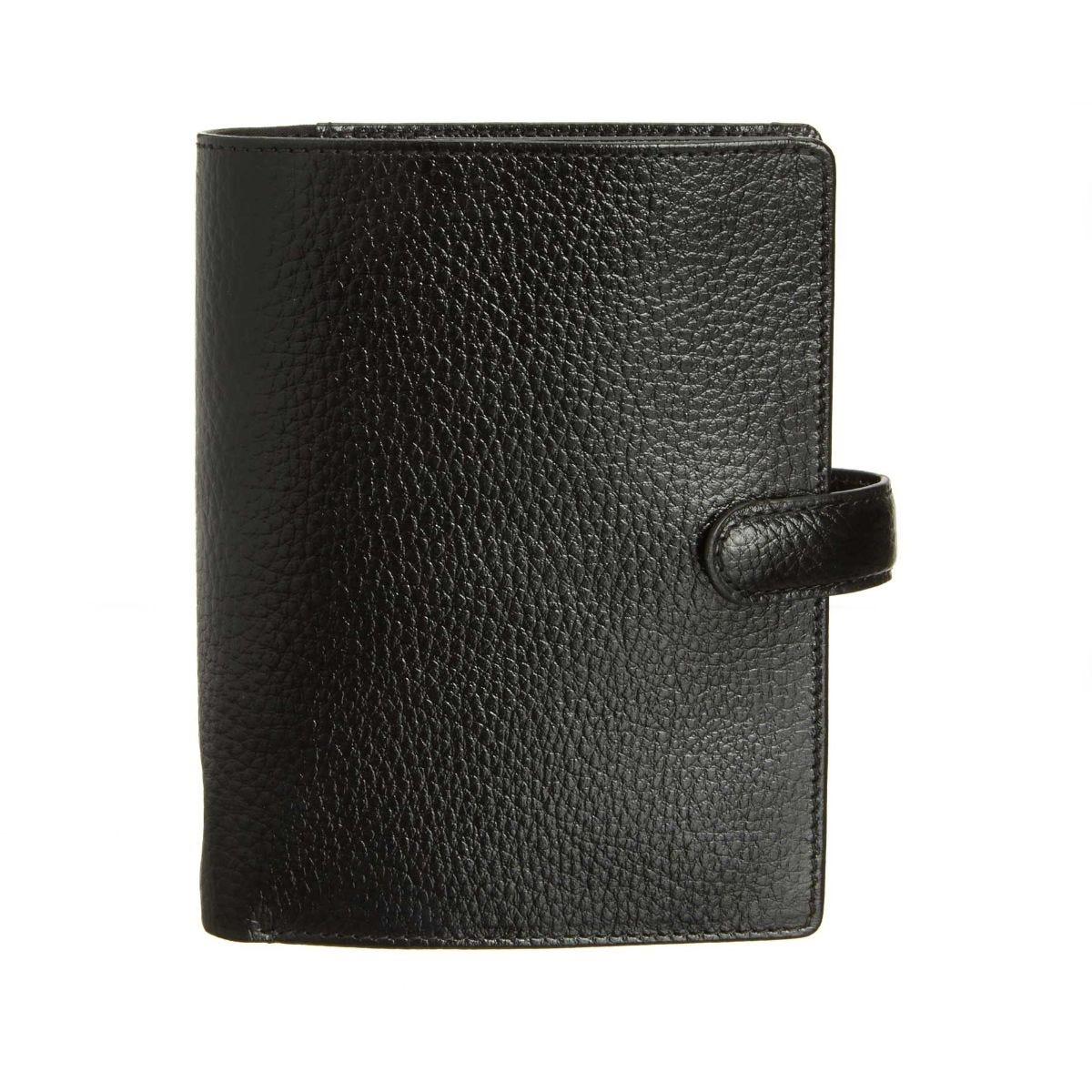 Filofax Finsbury Pocket Organiser Black, Black.