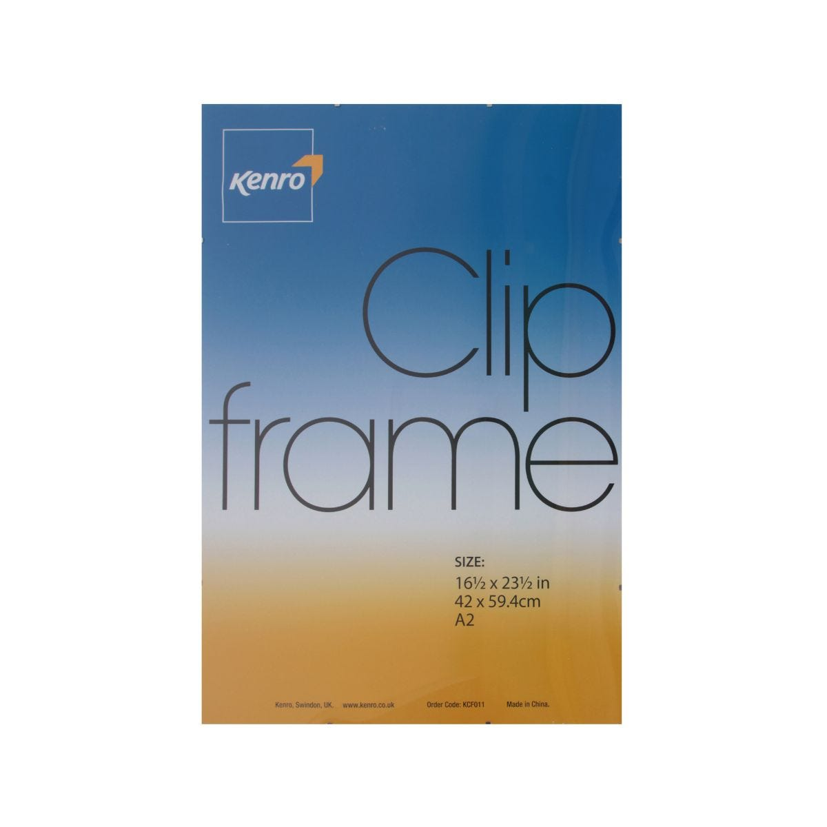 Image of Kenro Clip Frame A2 16x23""