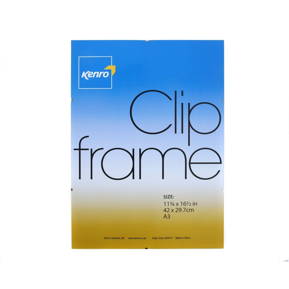 Image of Kenro Clip Frame 420x297mm A3