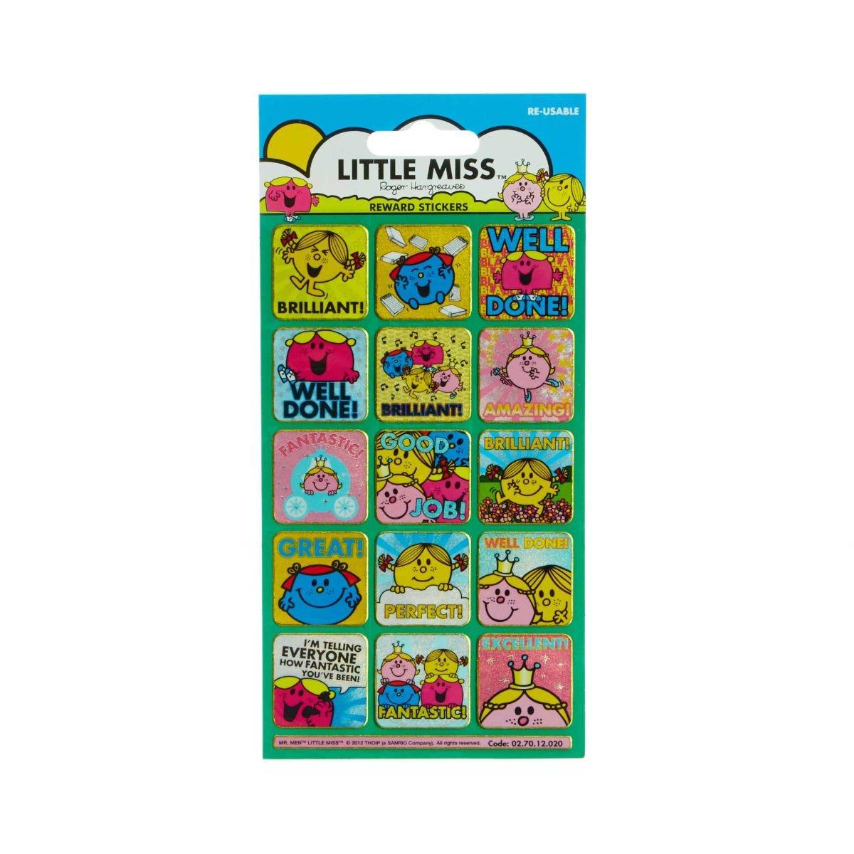 Little Miss Small Reward Sticker Pack