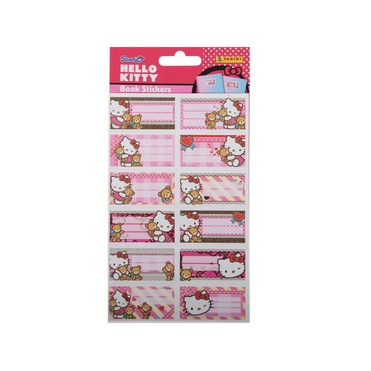 Hello Kitty Book Stickers