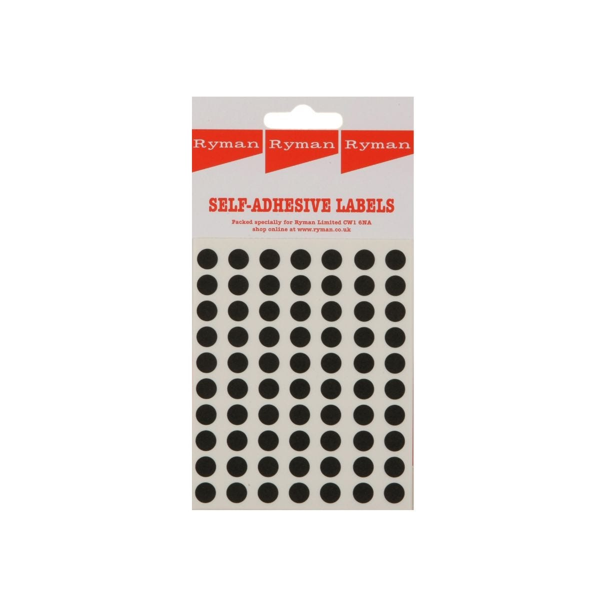 Clear Tester Circle Dot Stickers 13 mm 1//2 Inch Round 1000 Labels on a Roll