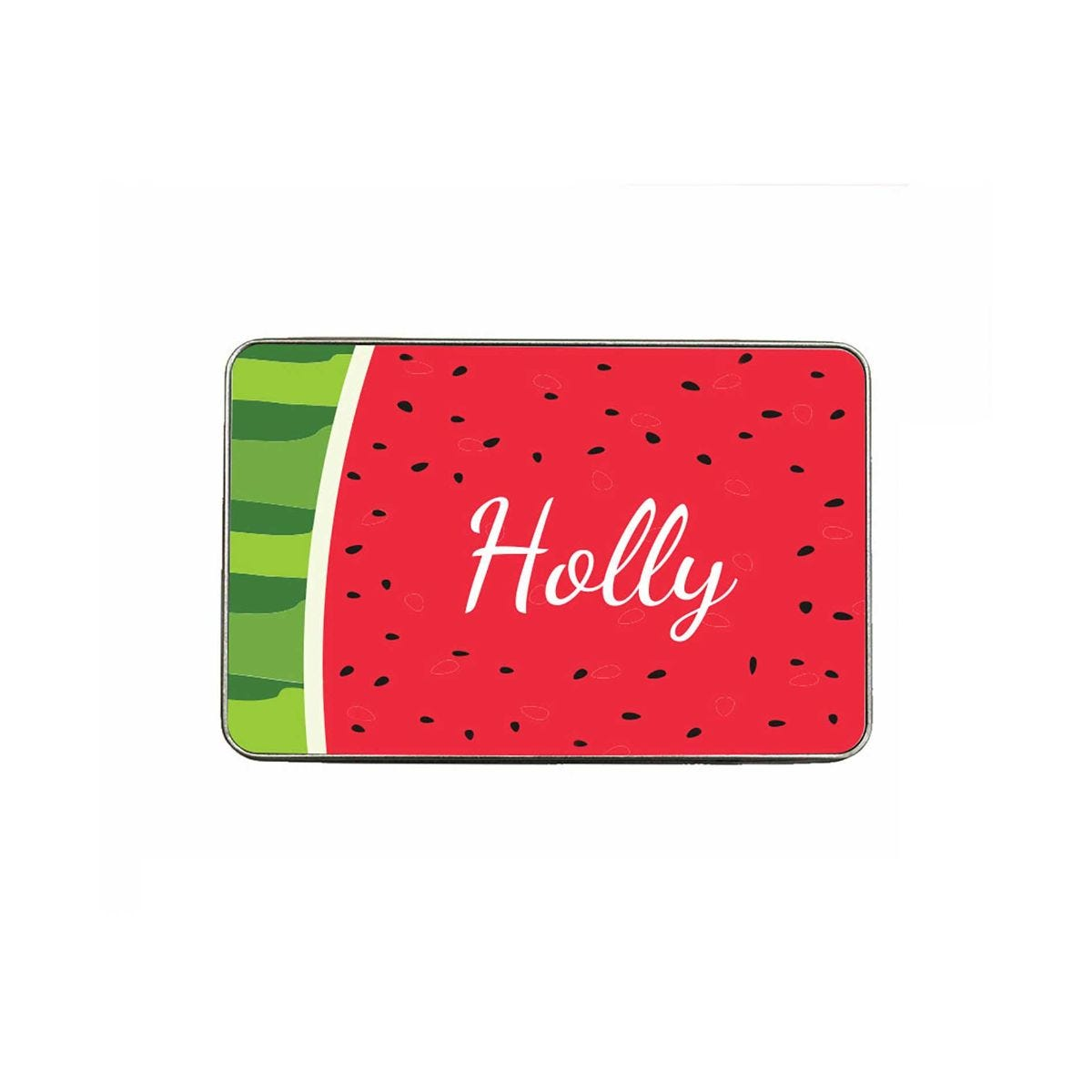 ryman personalised watermelon large pencil tin