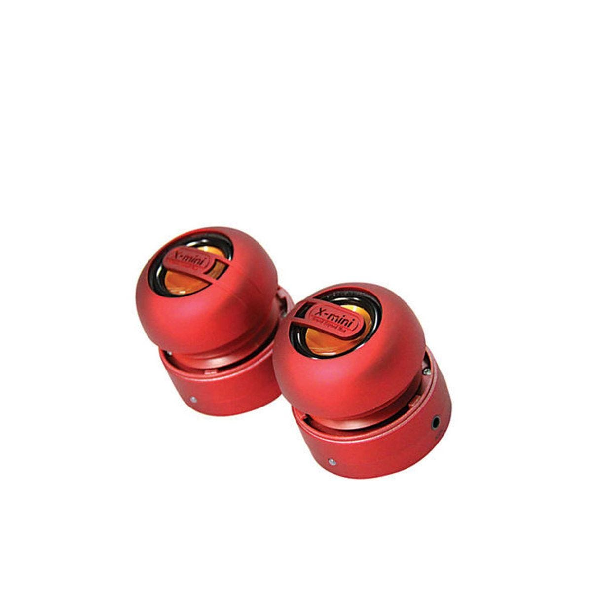 Image of Xmini MAX Portable Speakers, Red