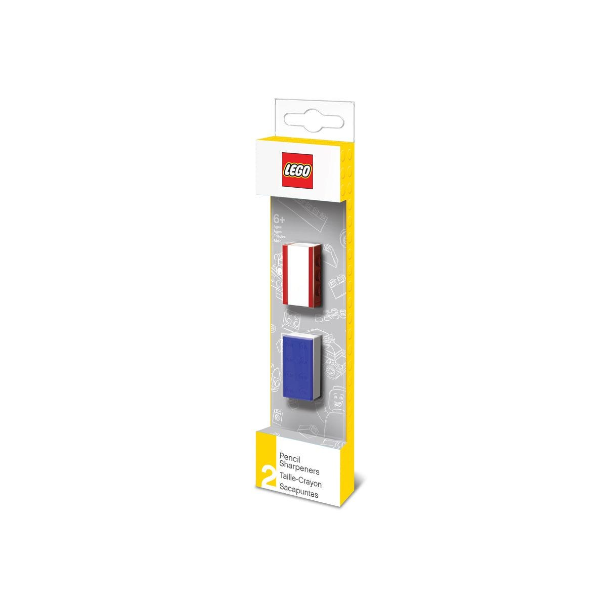 LEGO Pencil Sharpener Pack 2