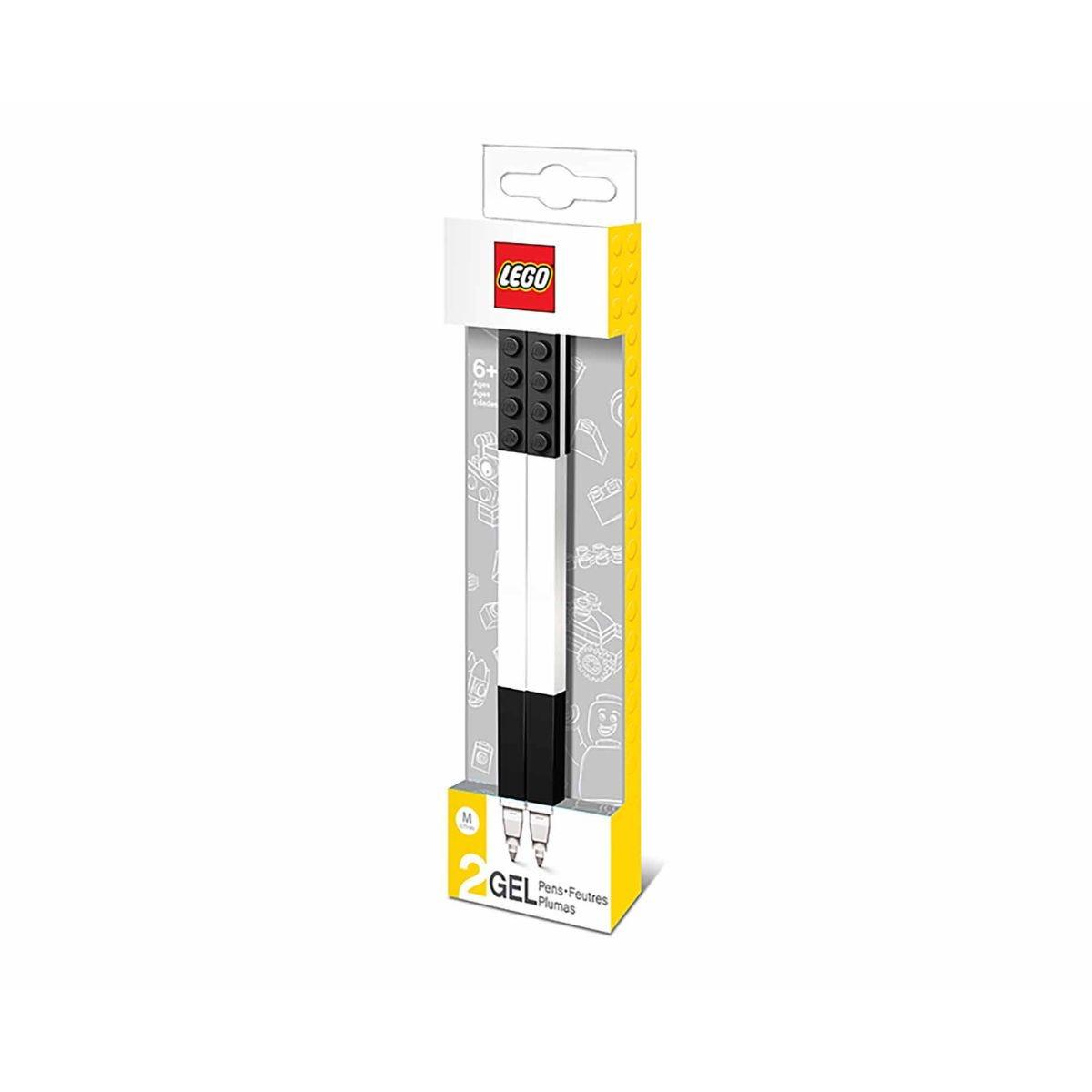 LEGO Gel Pen Pack of 2, Black