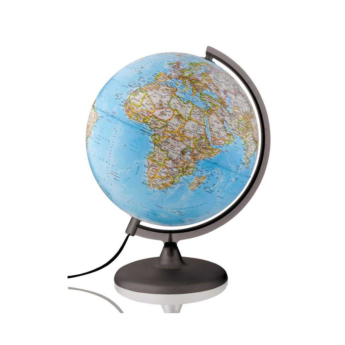 National Geographic Classic Illuminated Globe 25cm, Reference