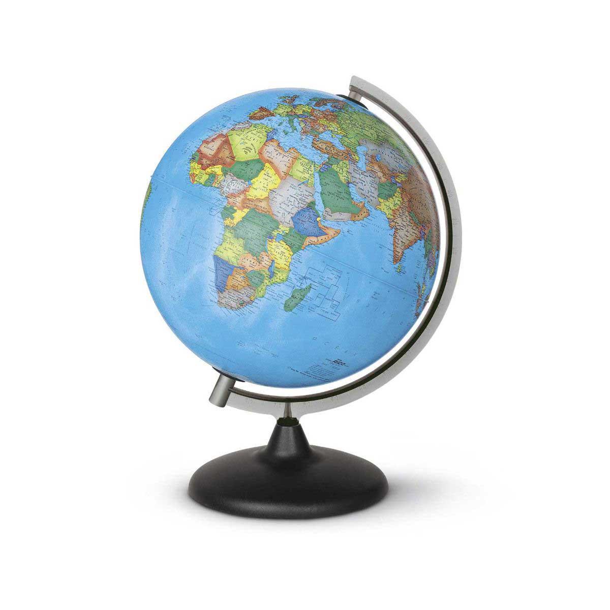 Image of Corallo Political Globe 30cm, Non-Illuminated