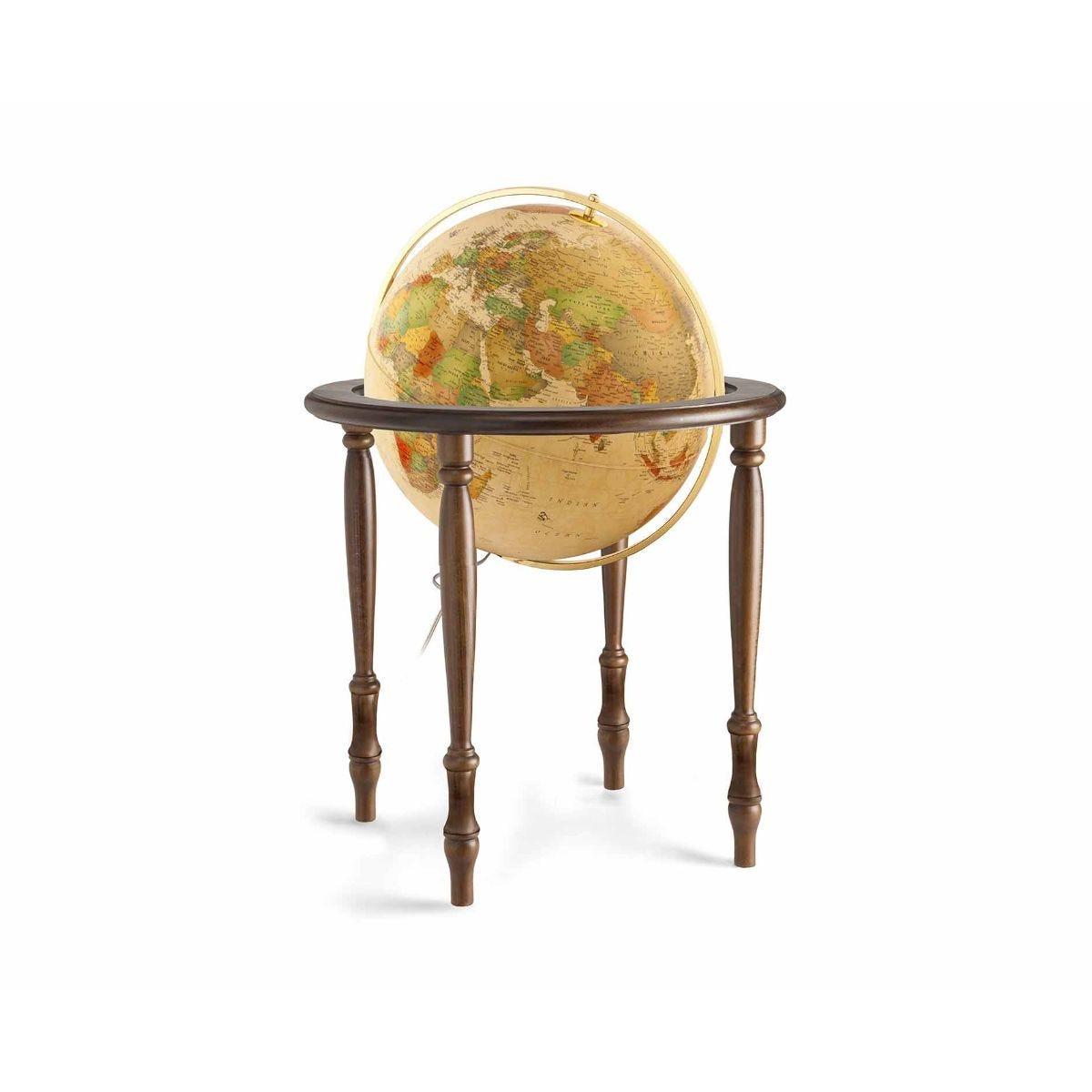 Image of Cinthia Illuminated Globe 50cm Freestanding, Hardwood